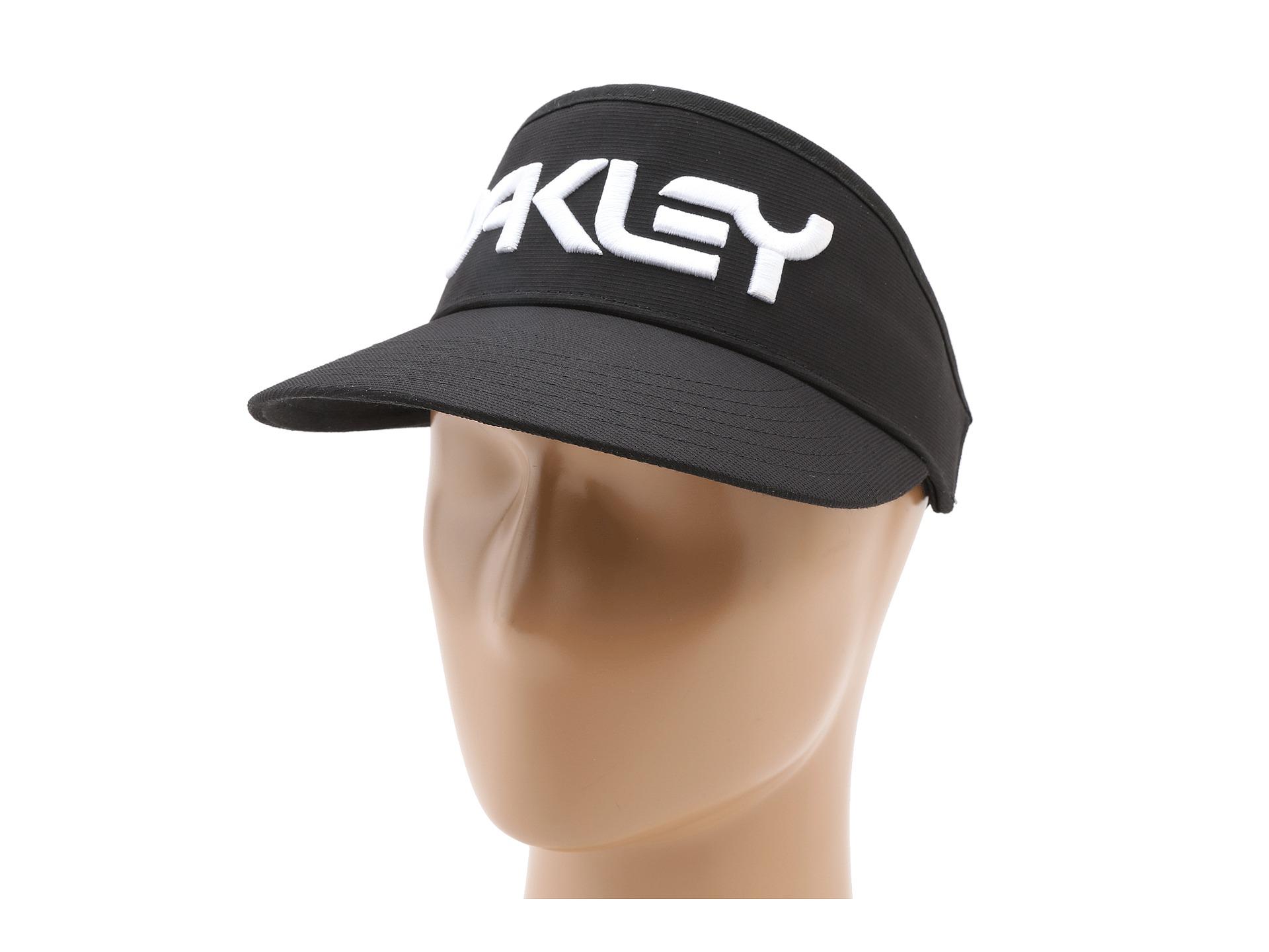 Lyst - Oakley High Crown Visor in Black for Men 778802e0fb1