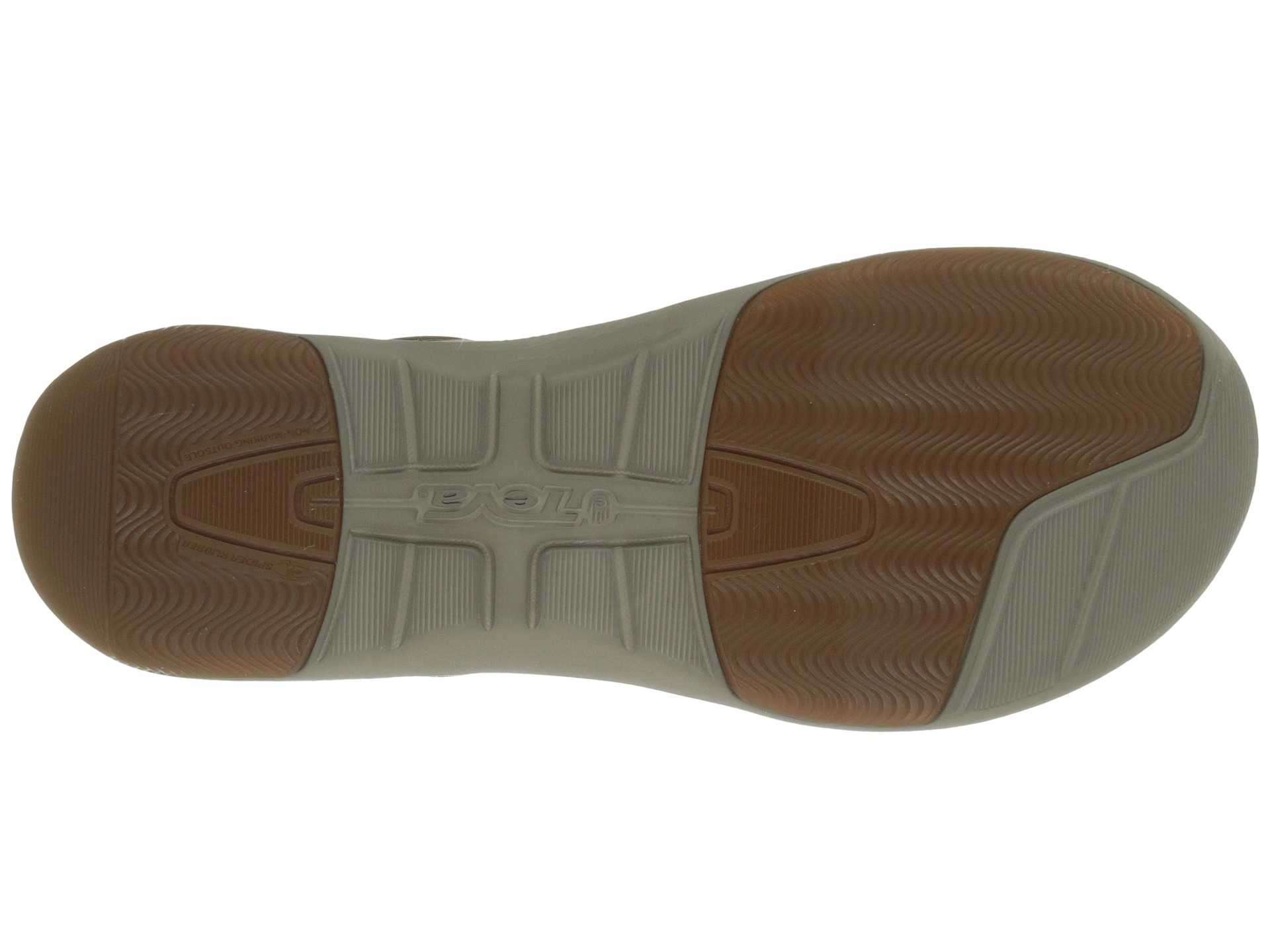 8694bf835 Lyst - Teva Wander Lace Leather in Brown for Men
