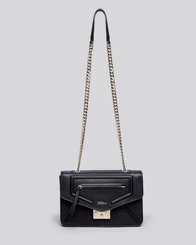 18da6184380bd Lyst - Furla Shoulder Bag - Alice Small in Black