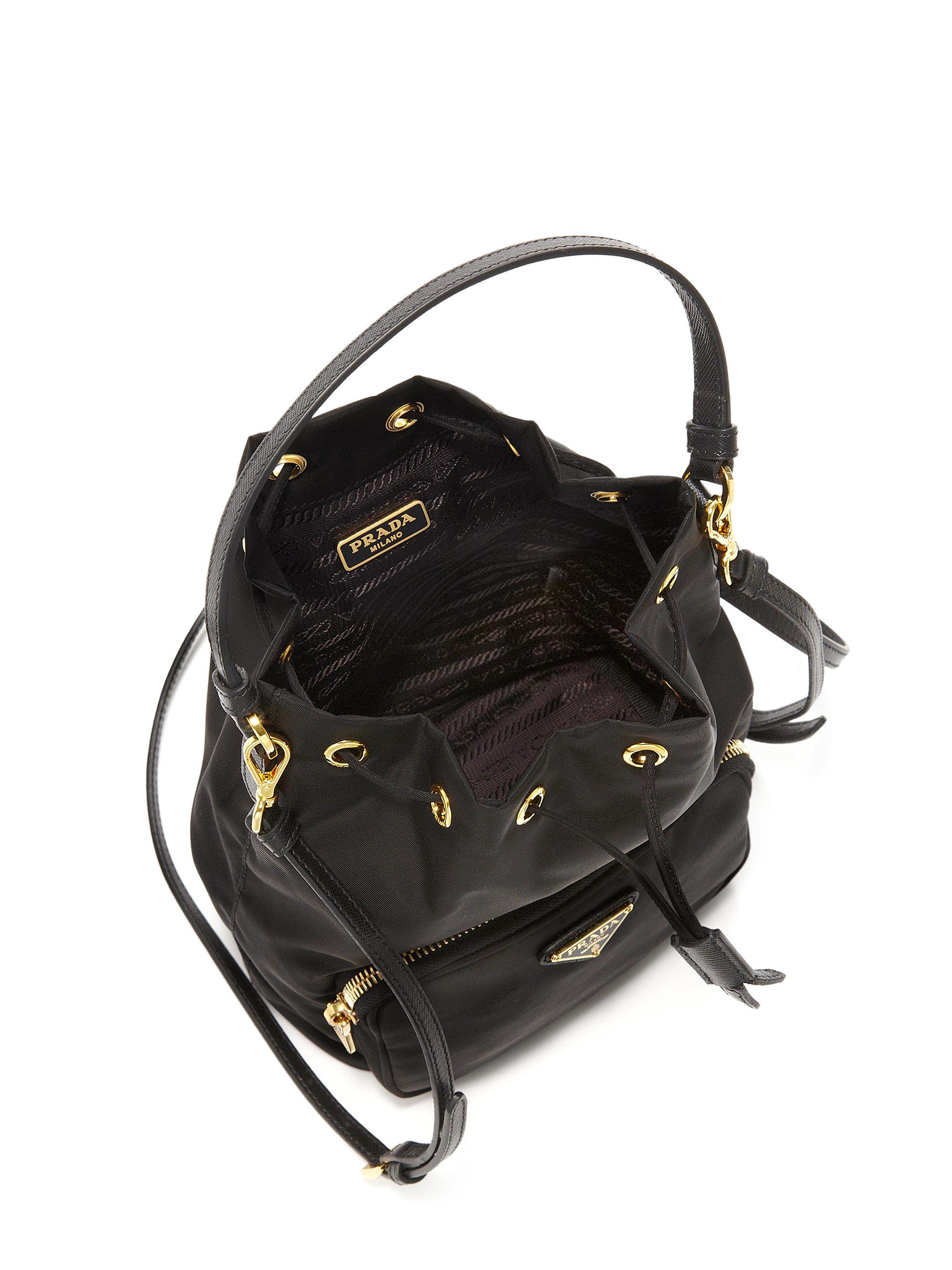 024a64a07f9f ... greece lyst prada tess mini backpack in black 1e133 52fd5