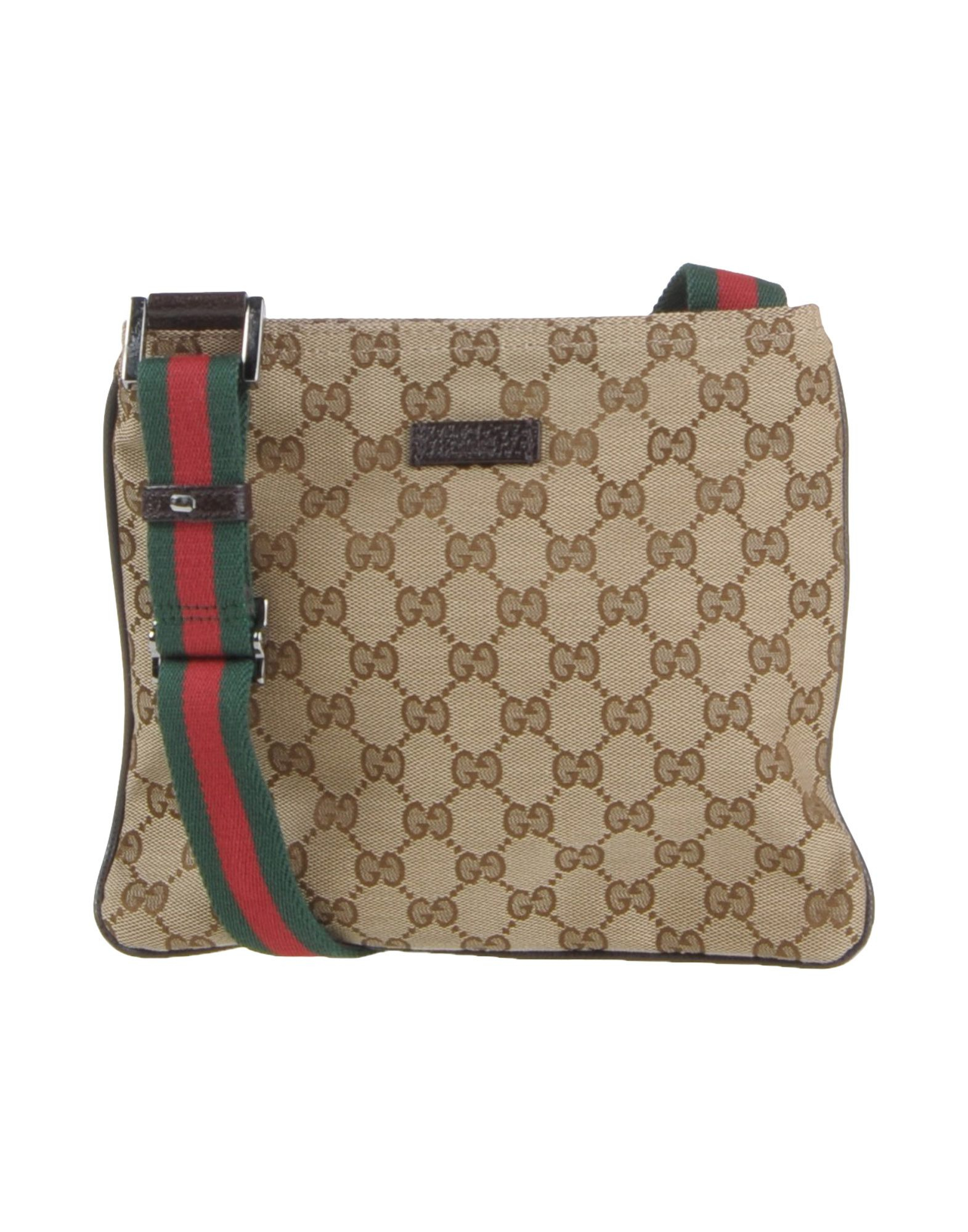 Lyst Gucci Cross Body Bag In Natural