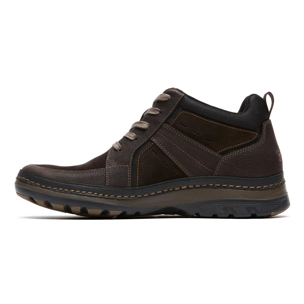 rockport activflex rocsports lite boot in brown for lyst