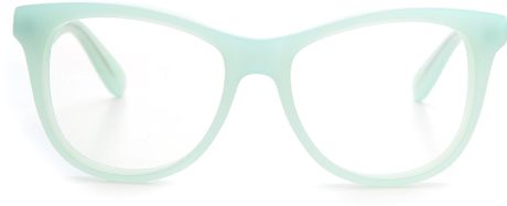 Mint Green Eyeglass Frames : Wildfox Catfarer Spectacle Glasses - Tortoise in Green ...