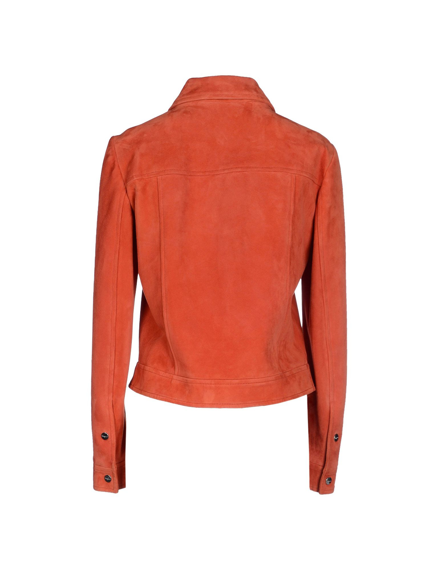 Ferragamo Jacket In Orange Lyst