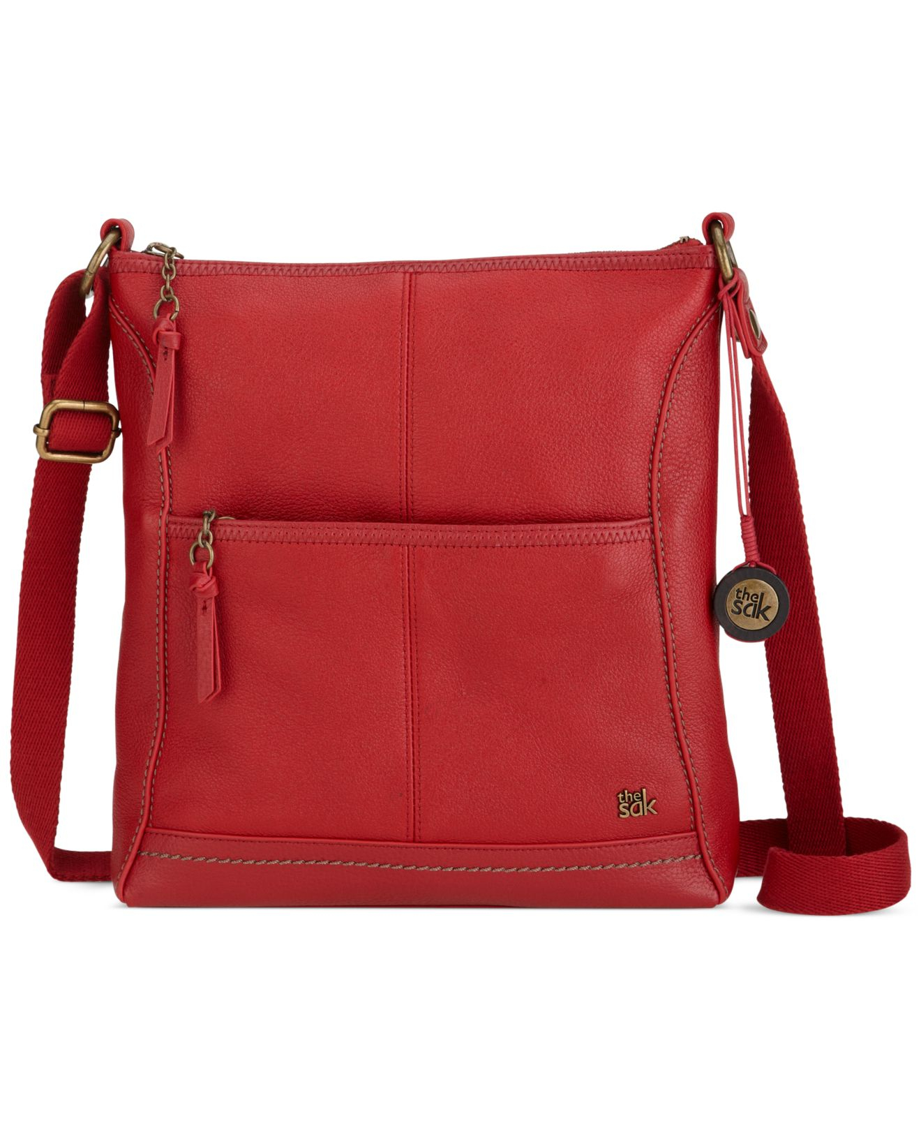 Lyst The Sak Iris Leather Crossbody Bag In Red. The Sak Purse Leather Best  Image Ccdbb b83dc67017d83
