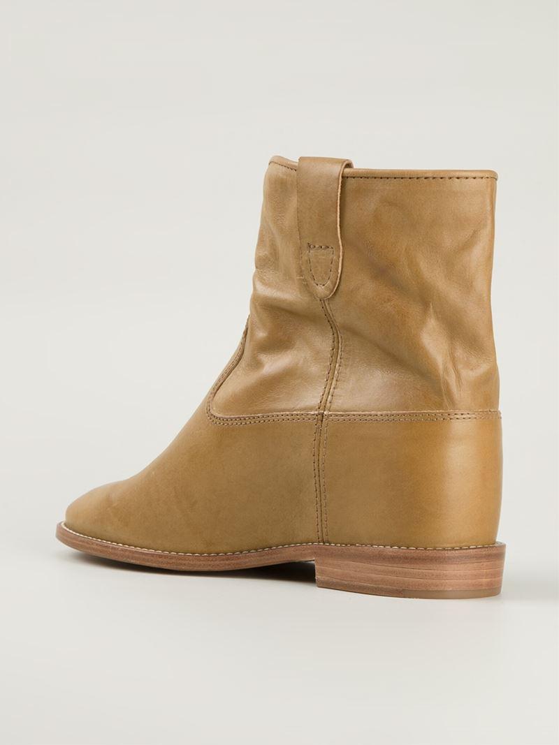 Isabel Marant Étoile 'crisi' Boots - Nude & Neutrals xPp7wYdg