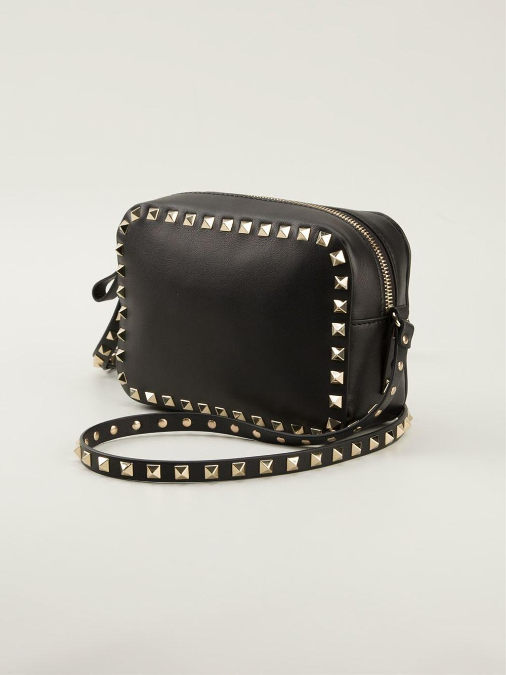 Rockstud crossbody bag - Black Valentino GO8VeUMz7C