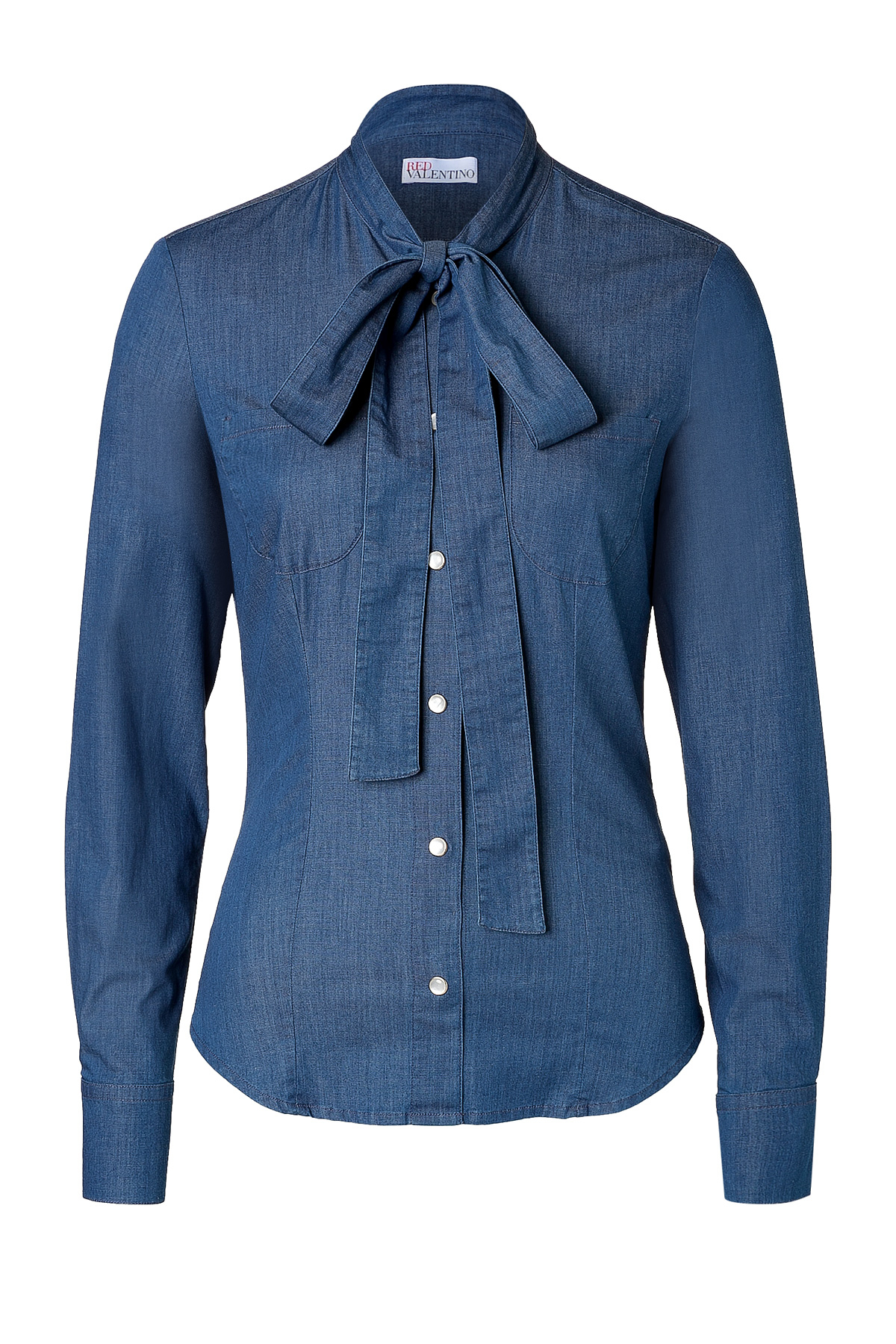 Long Denim Shirt Women
