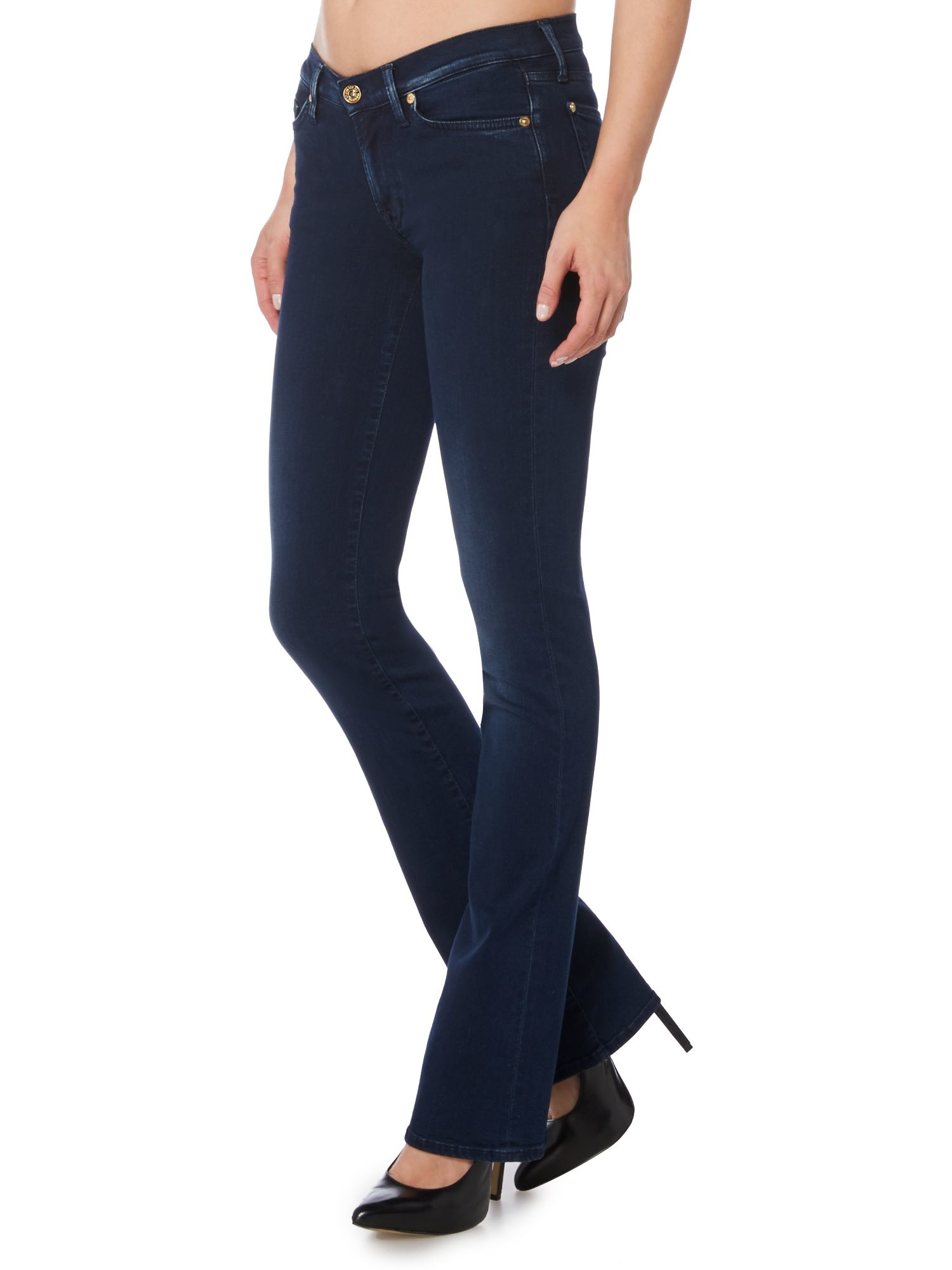 Skinny bootcut slim illusion laredo blue
