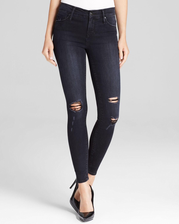 Black orchid Jeans - Jude Skinny In Black Rock in Black | Lyst