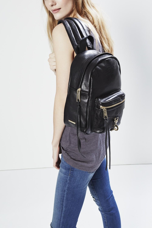 Rebecca minkoff Mini M.a.b. Backpack in Pink | Lyst