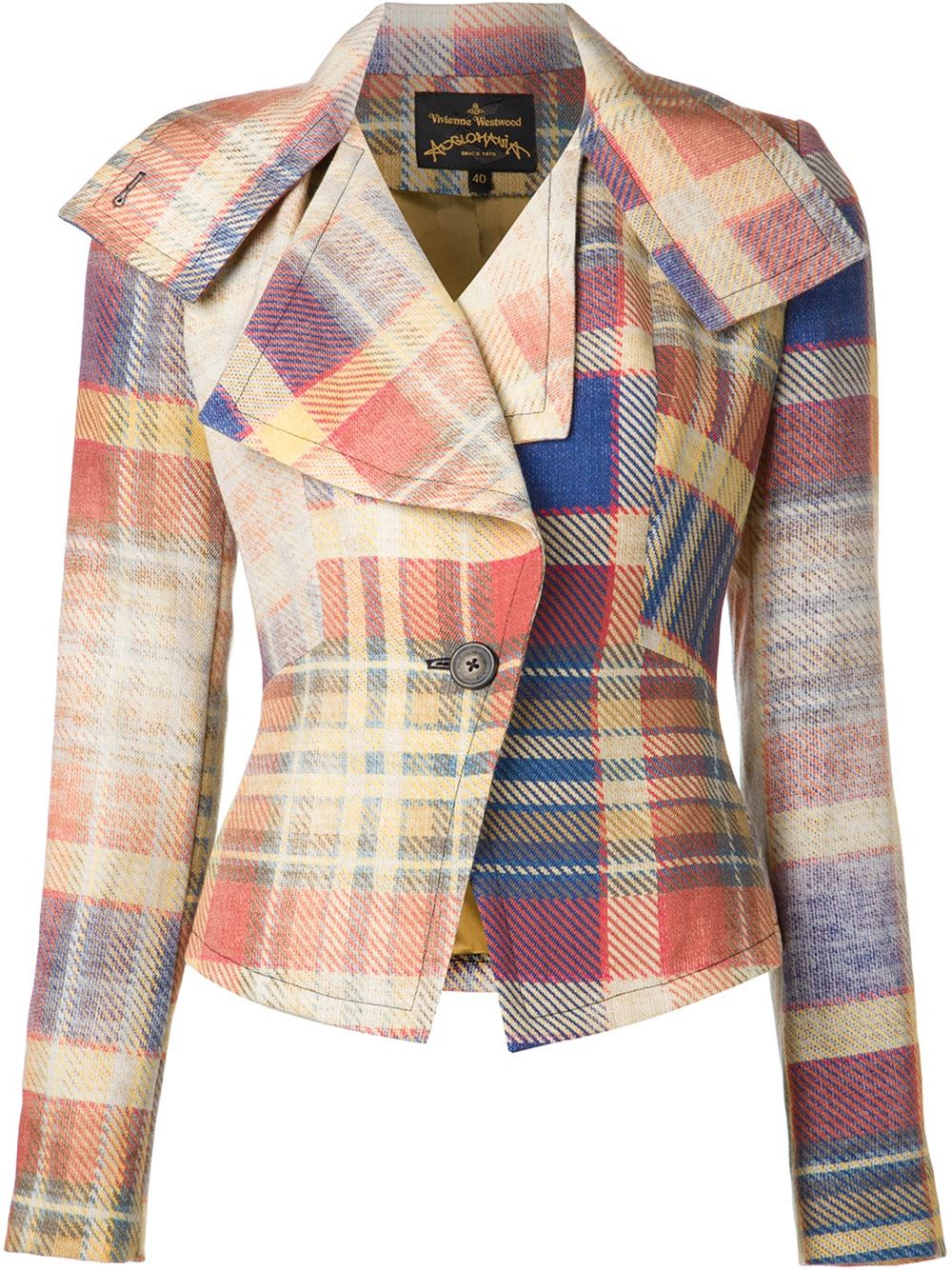 Lyst - Vivienne Westwood Anglomania  Whisper  Jacket in Blue 7826ee1e3