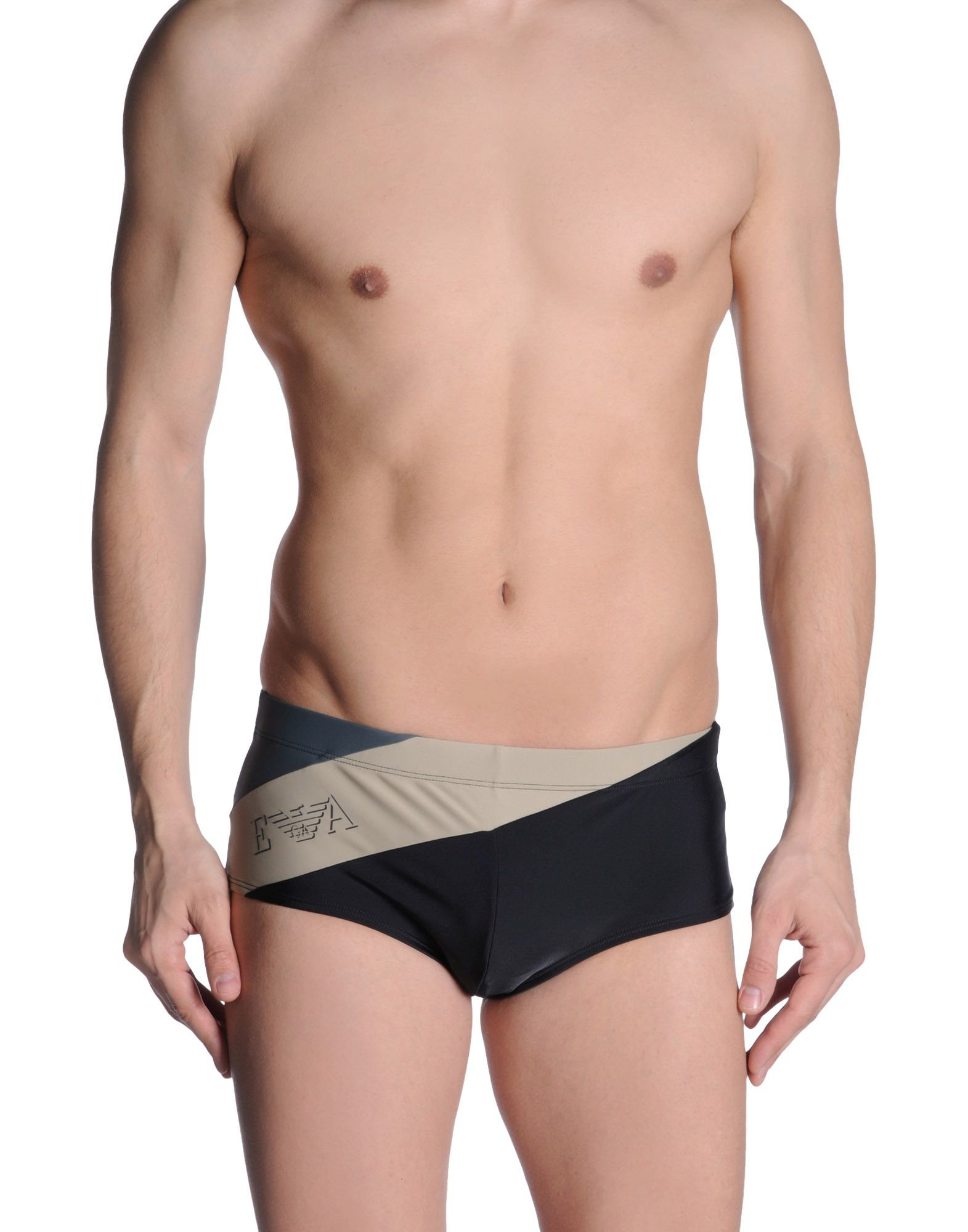 emporio armani bikini bottoms in black for men. Black Bedroom Furniture Sets. Home Design Ideas