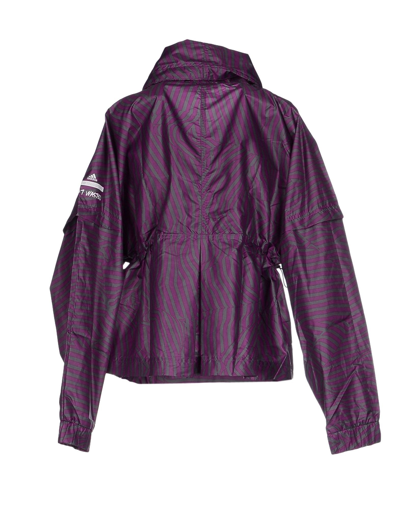 various colors ac173 b2885 Adidas by stella mccartney Oversized Zip-Up Jacket in Purple   Lyst