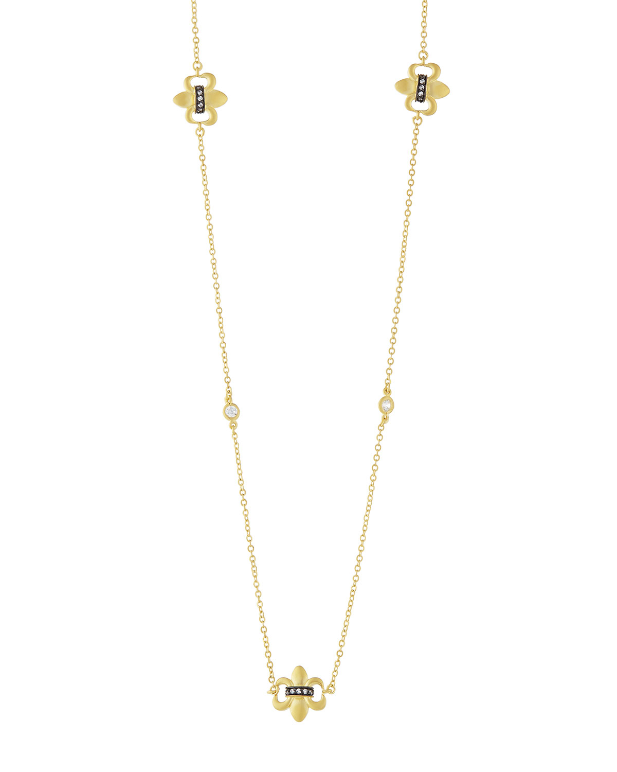 Freida Rothman Fleur Bloom Station Necklace