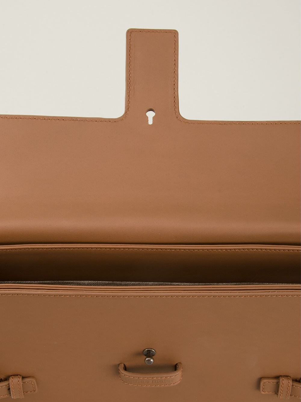 Tomas Maier Clutch Bag In Brown Lyst