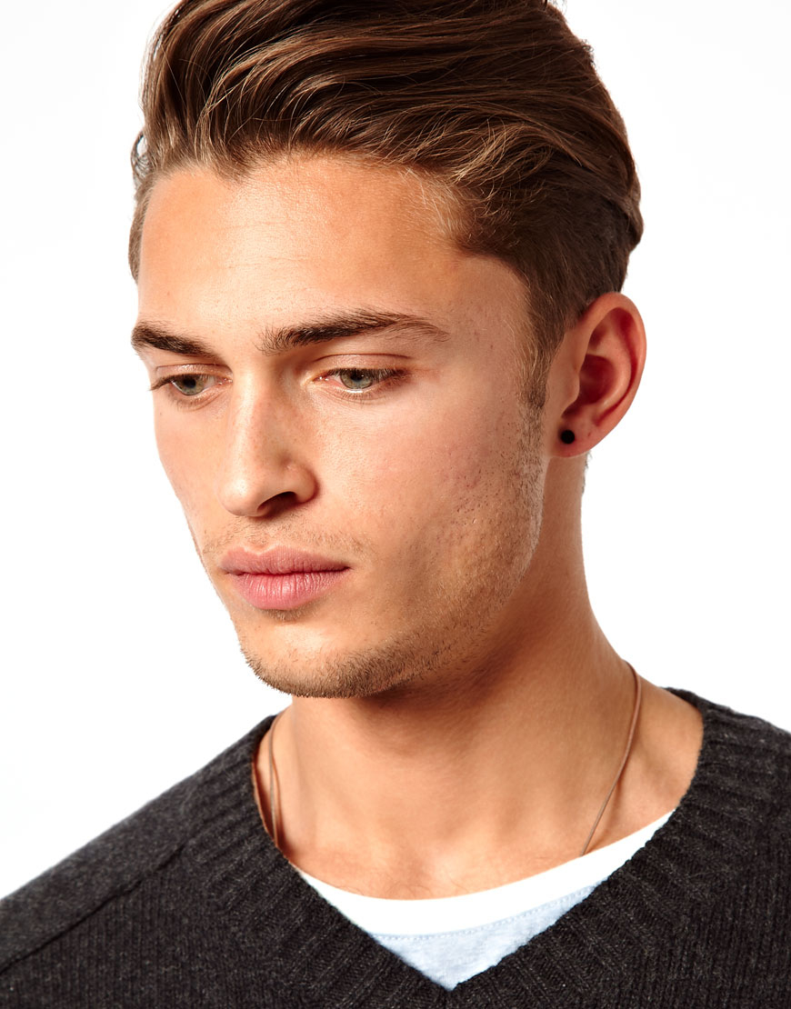 Lyst Asos Earring Pack With Skull And Star In Black For Men