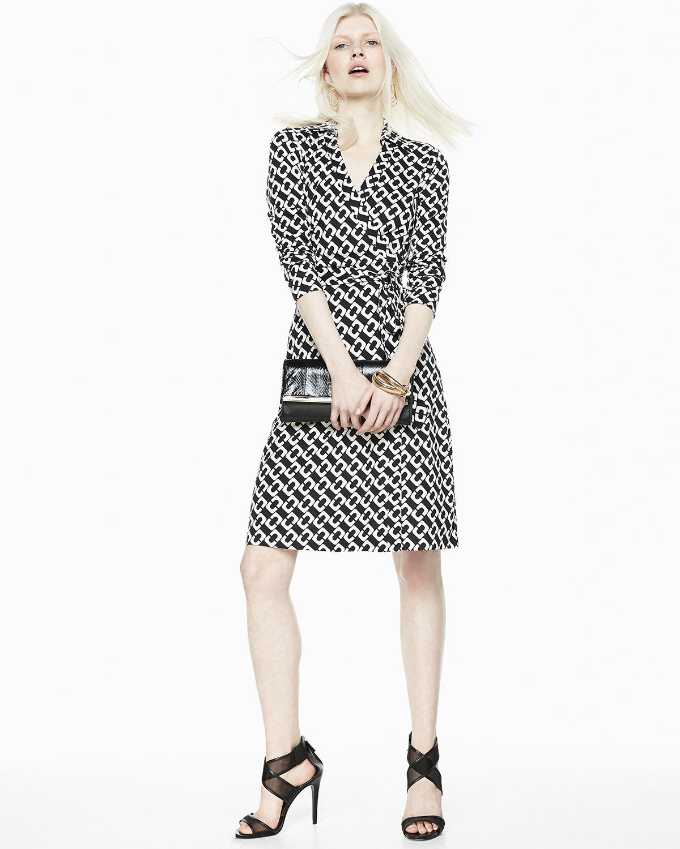 Diane Von Furstenberg New Jeanne Two Dress In Black Lyst