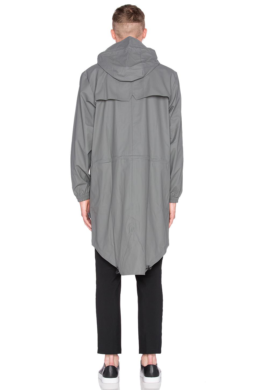Rains Parka in Gray for Men | Lyst