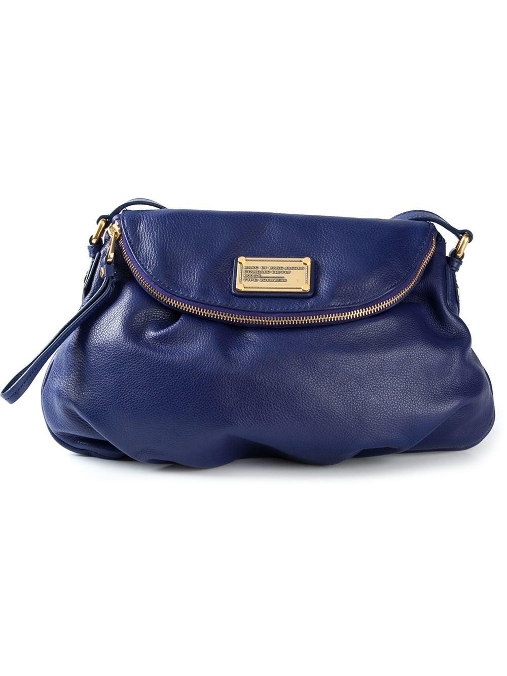 e524493a8a5a Lyst - Marc By Marc Jacobs  Classic Q Natasha  Cross Body Bag in Blue