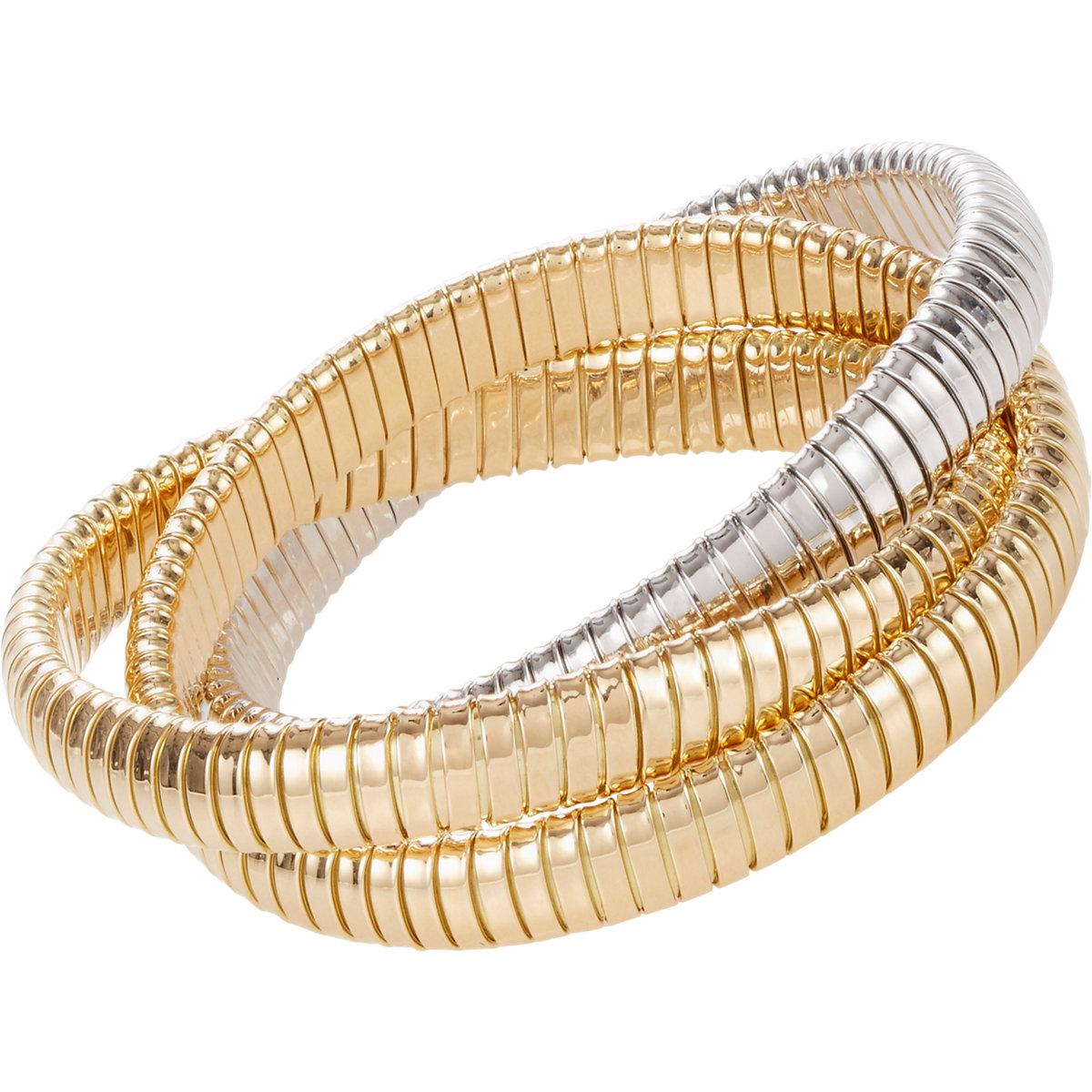 Lyst Sidney Garber Rolling Bracelet In Metallic