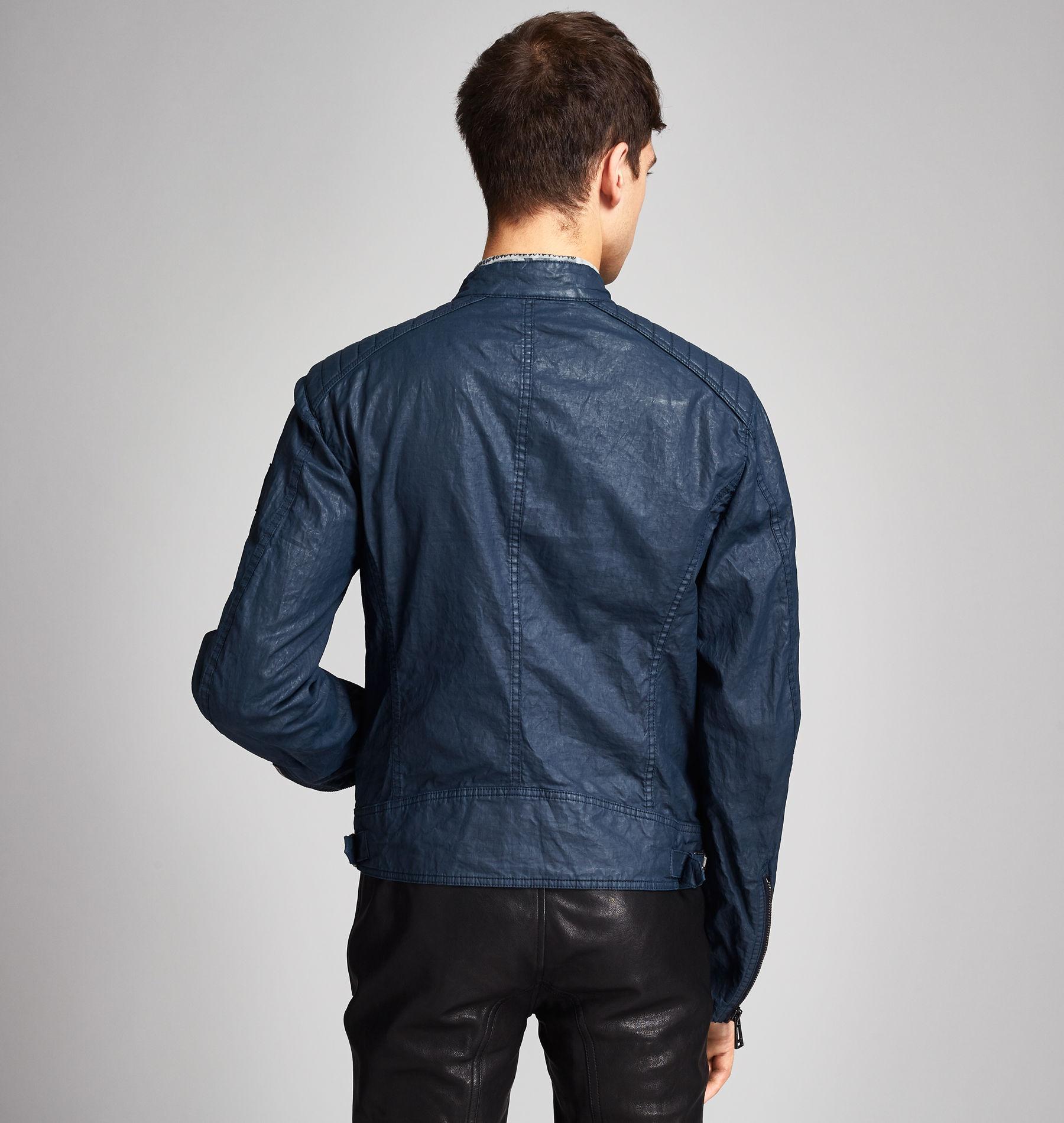 Belstaff K Racer Jacket Blue