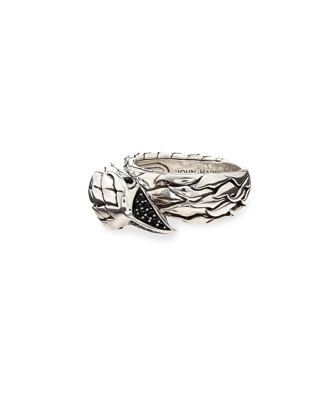 Lyst John Hardy Men S Lava Eagle Head Ring In Gray For Men