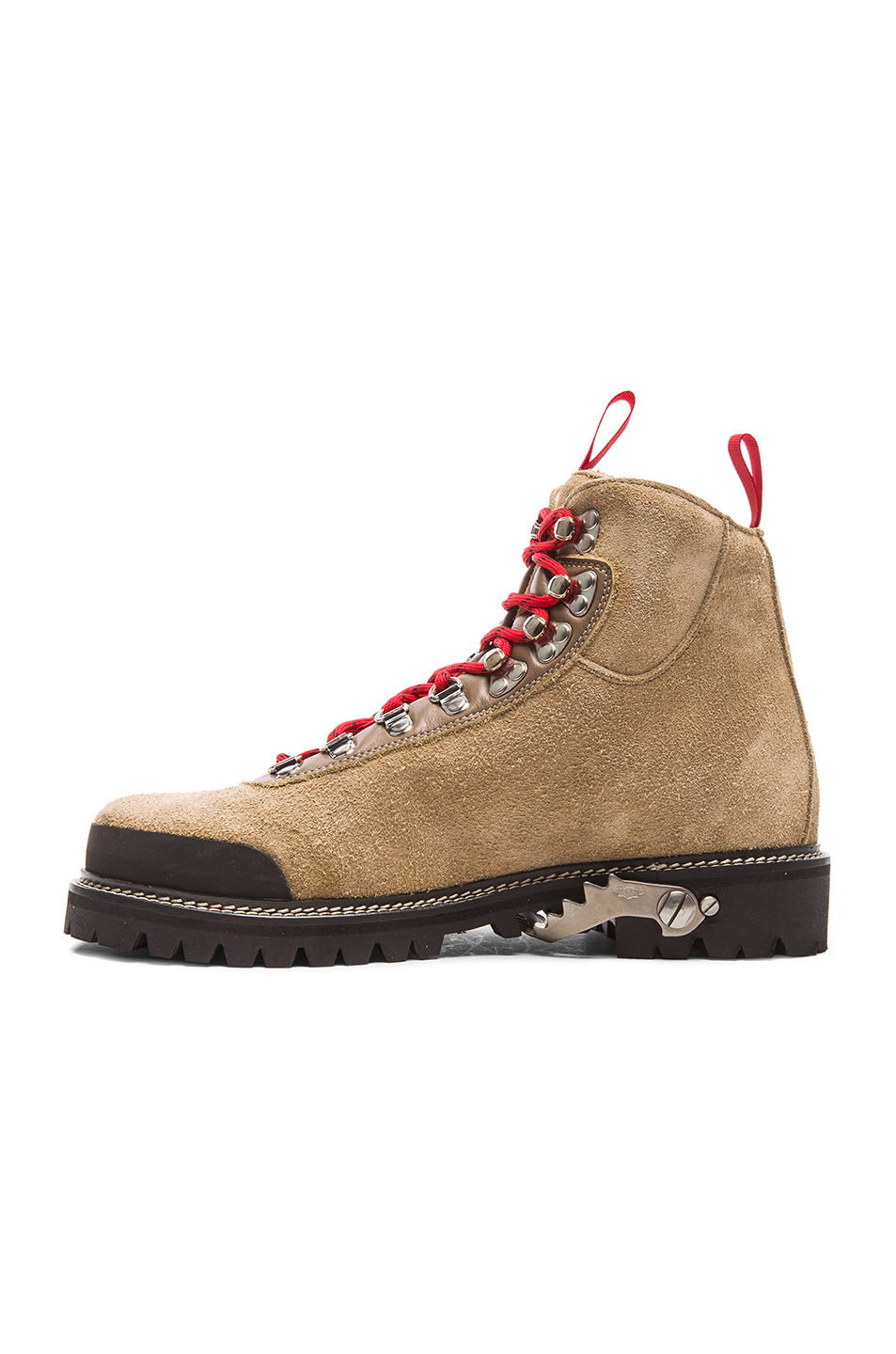 Lyst Off White C O Virgil Abloh Suede Hiking Boots In