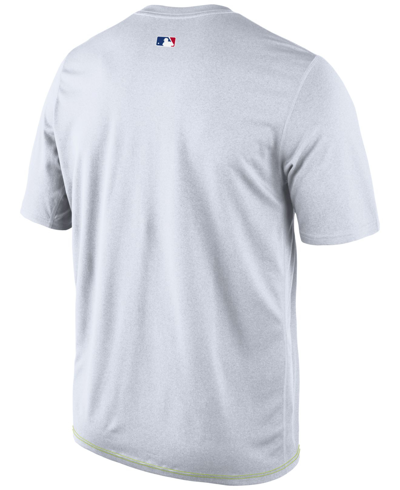 premium selection 07522 76832 Lyst - Nike Men S Chicago Cubs Dri-Fit Legend T-Shirt in White for Men
