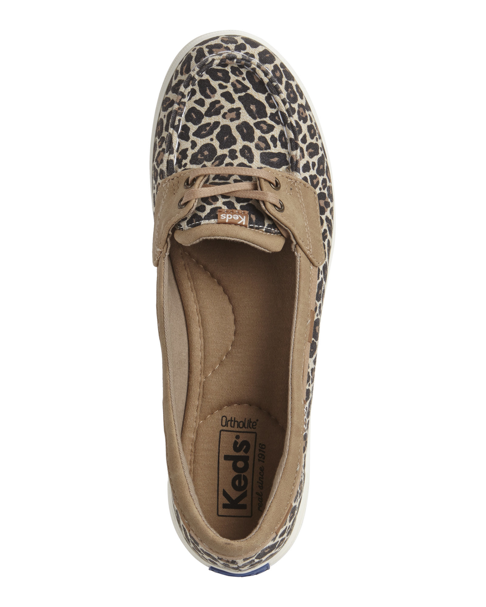 50938bf2 Keds Leopard & Tan Glimmer Boat Shoes - Lyst