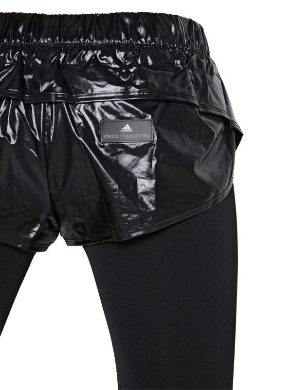a55475d093176 adidas By Stella McCartney Essentials Shorts & Microfiber Leggings ...