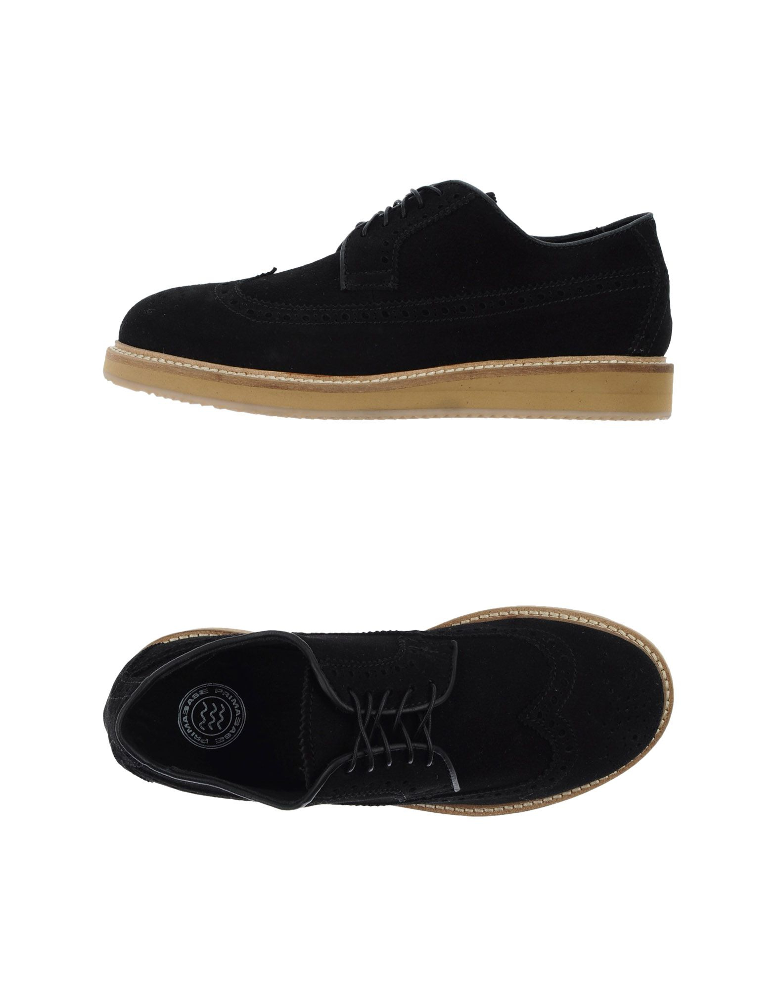 primabase lace up shoes in black for lyst