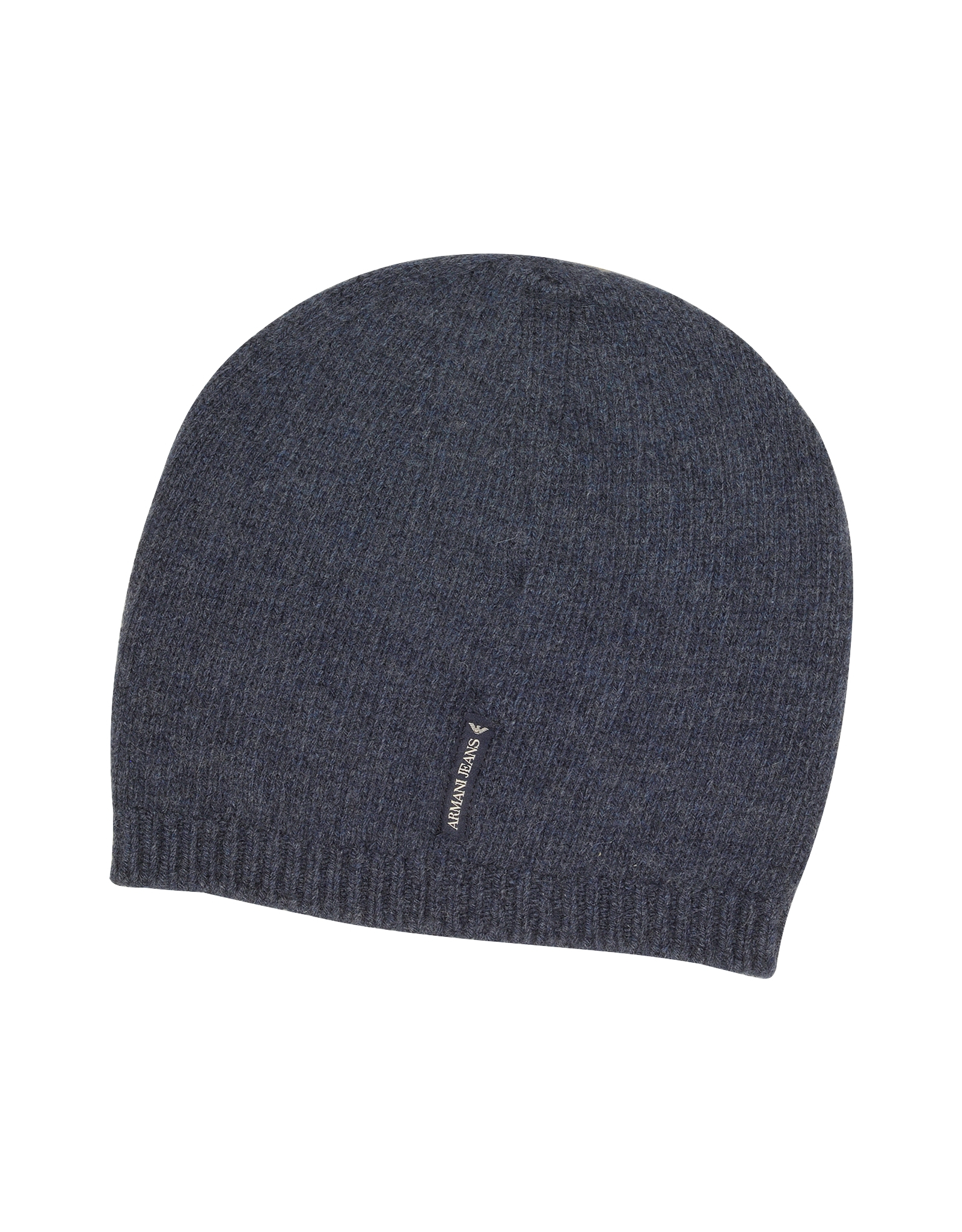Armani Jeans Solid Pure Cashmere Men s Beanie Hat in Blue for Men - Lyst 74f91be28a12
