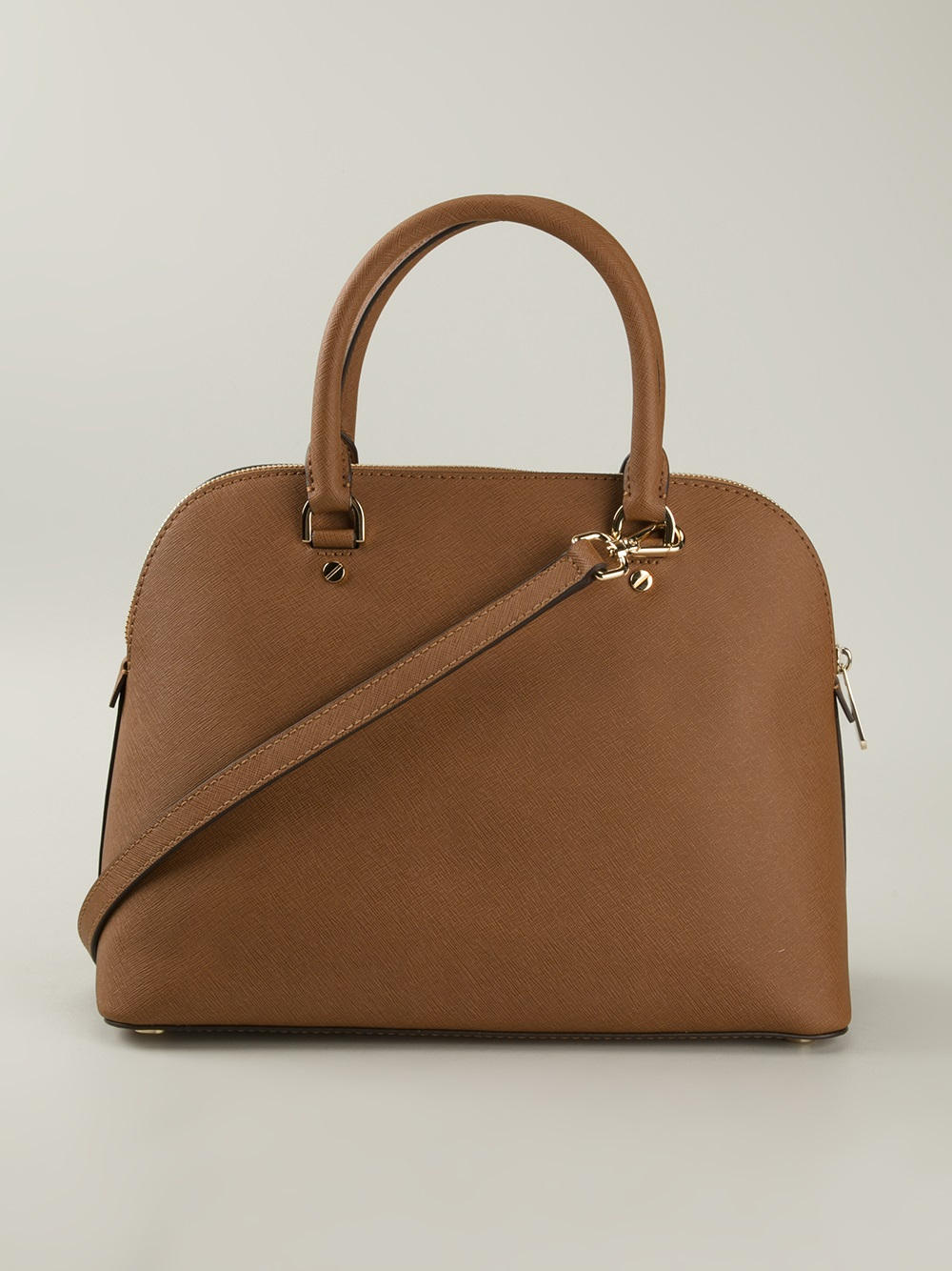 Michael Kors Cindy Laukku : Michael kors cindy tote bag in brown lyst