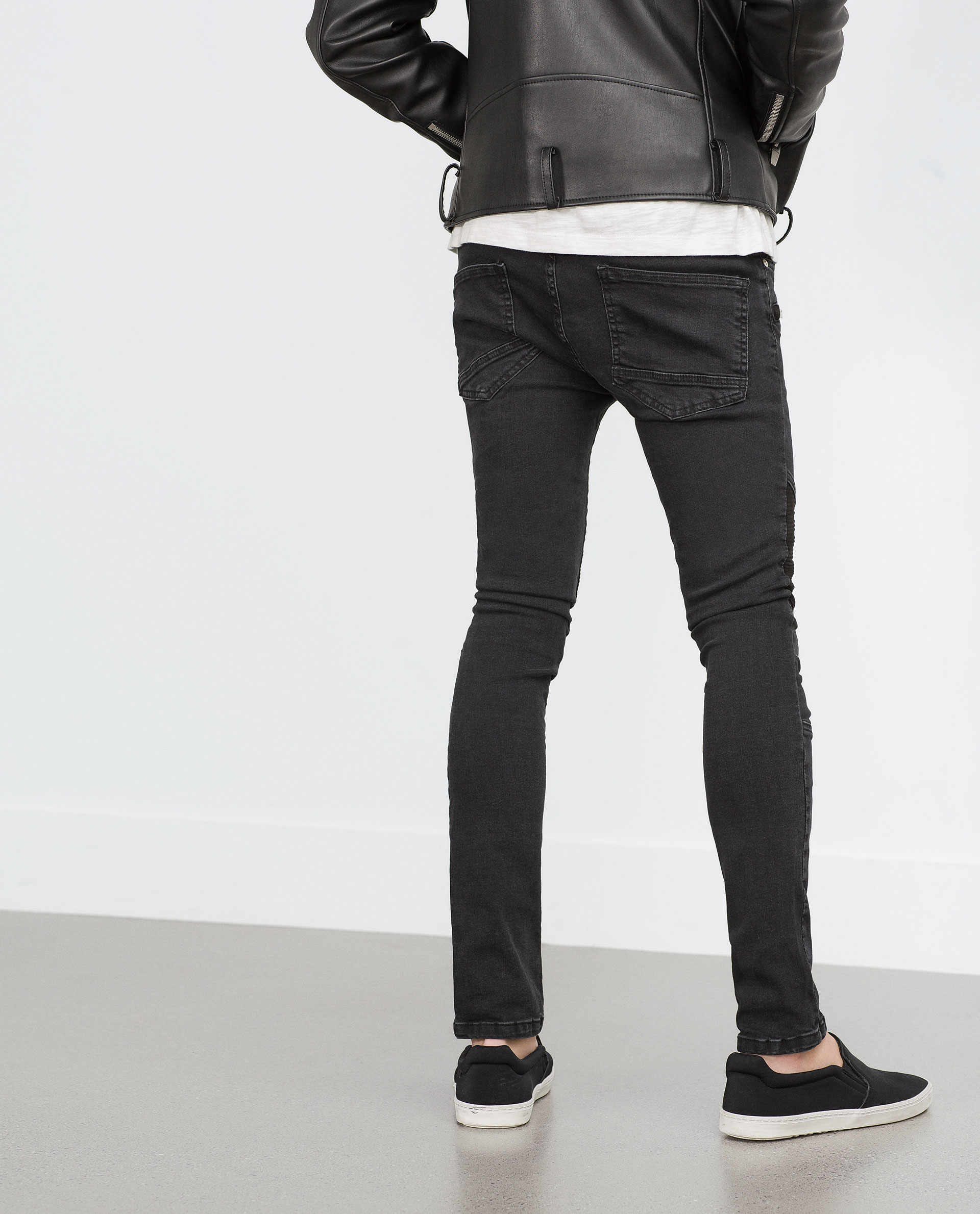 Zara Skinny Jeans in Black for Men | Lyst