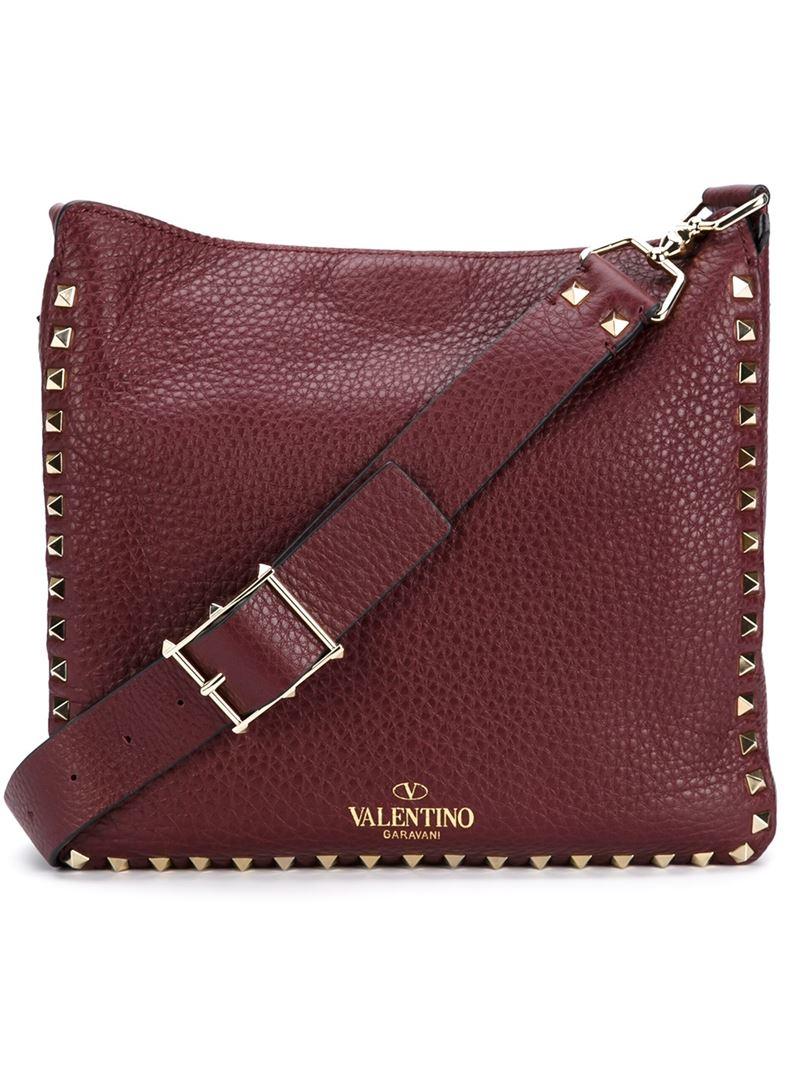 b8b472d1c0c7 Valentino Rockstud Red Bag