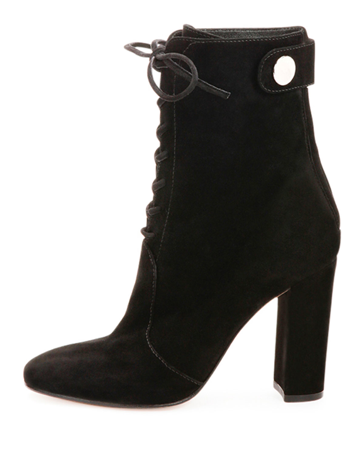 lace-up ankle boots - Black Sergio Rossi hXw7jGS