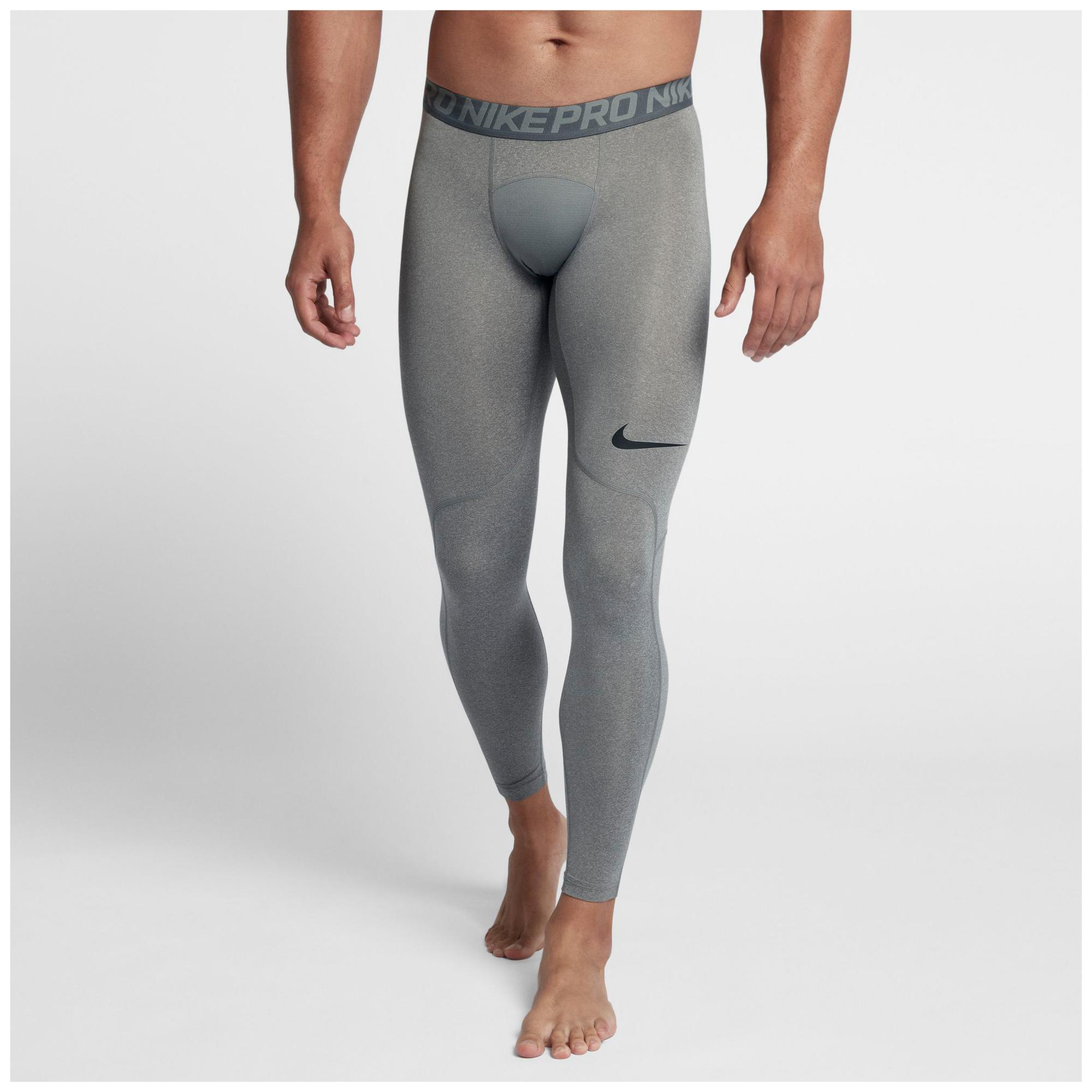 6fd01f992b173 Nike Pro Compression Tights in Gray for Men - Lyst