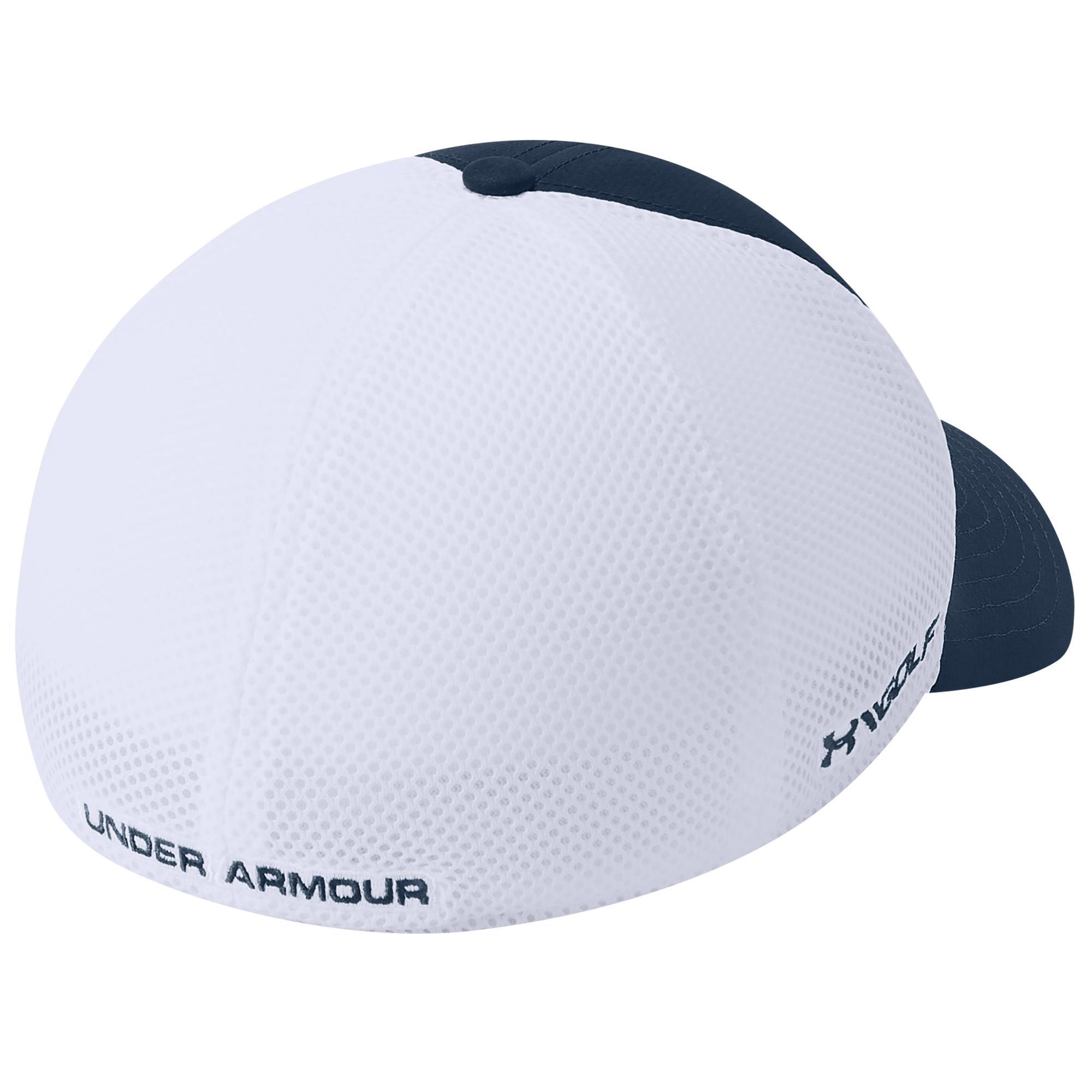 58d081a7 Under Armour - White Tb Classic Mesh Golf Cap for Men - Lyst. View  fullscreen