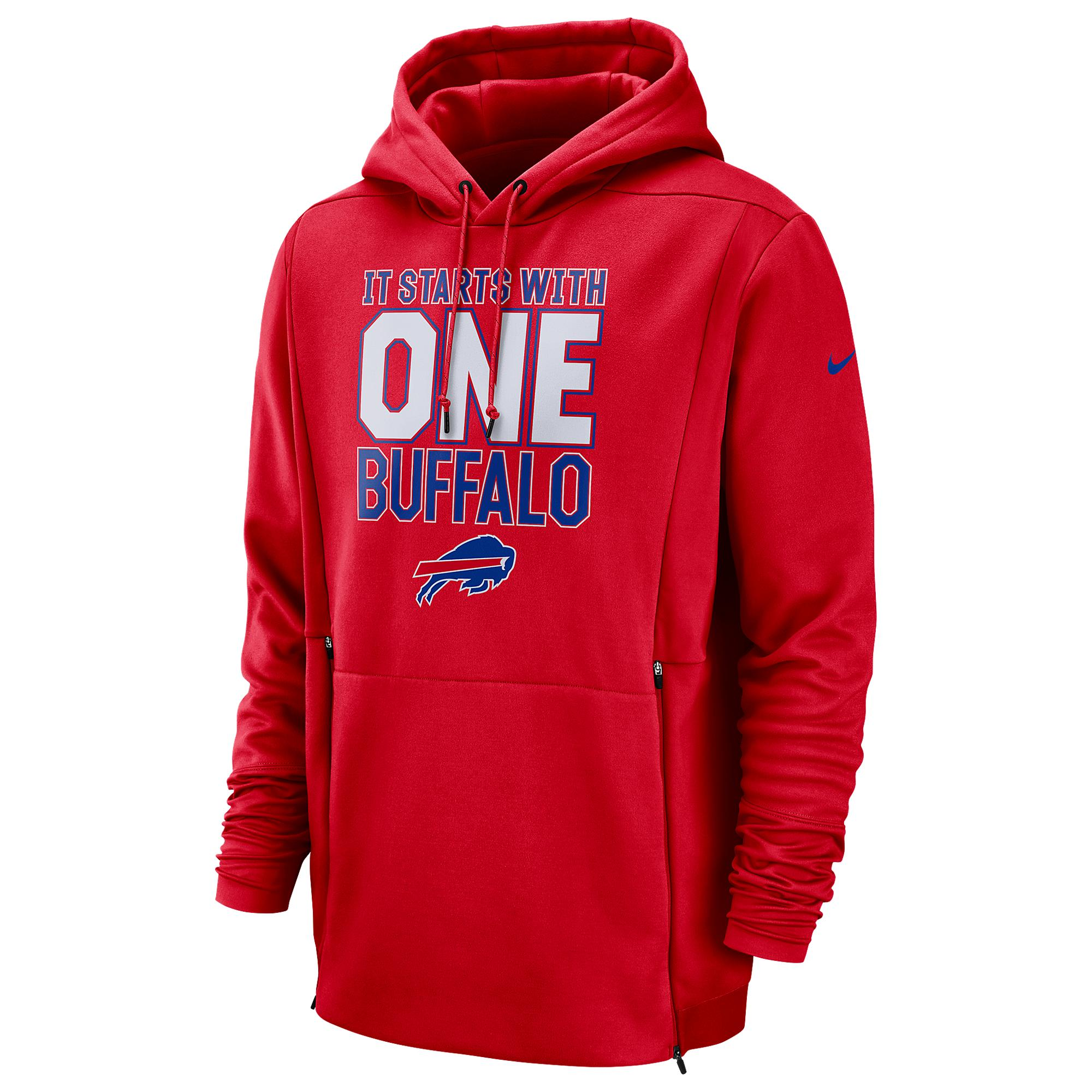 Cheap Nike Buffalo Bills Nfl Sideline Local Player Fleece Hoodie in Red  for sale