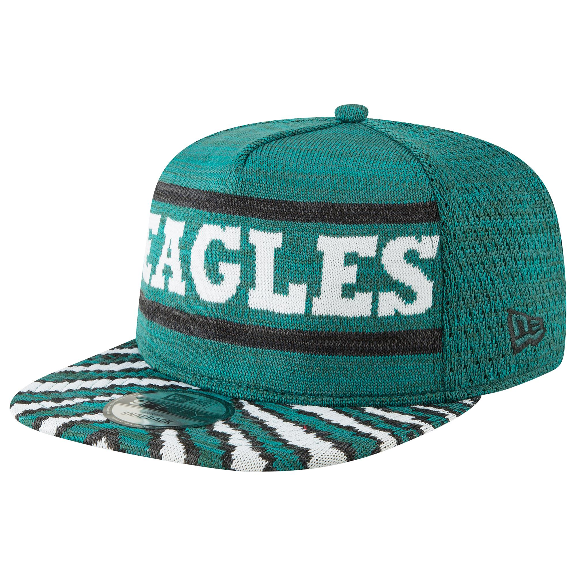 961c778c KTZ. Men's Green Philadelphia Eagles Nfl 9fifty Fresh Front Zubaz Snapback
