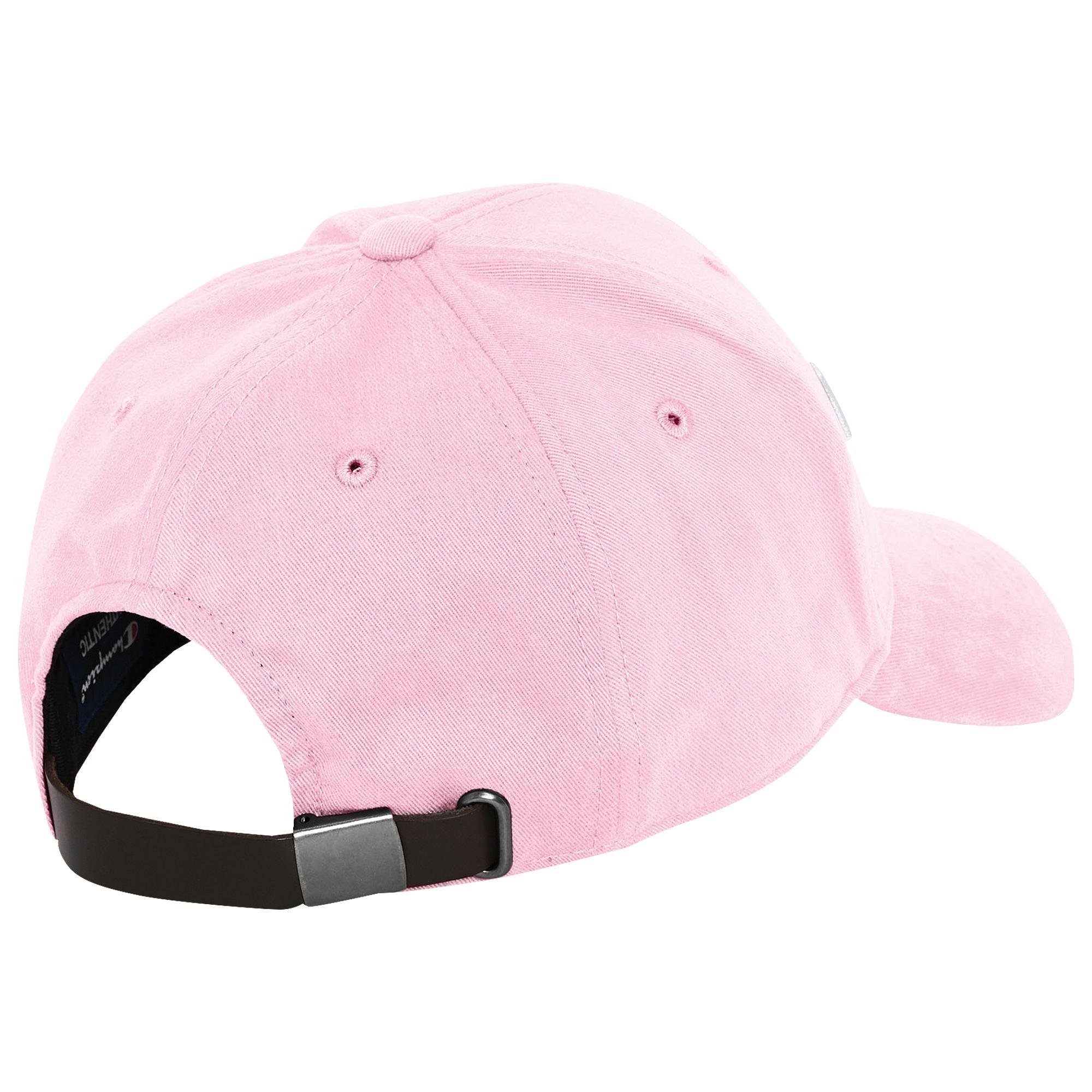 22362eff Champion - Pink Classic Twill Script Hat - Lyst. View fullscreen