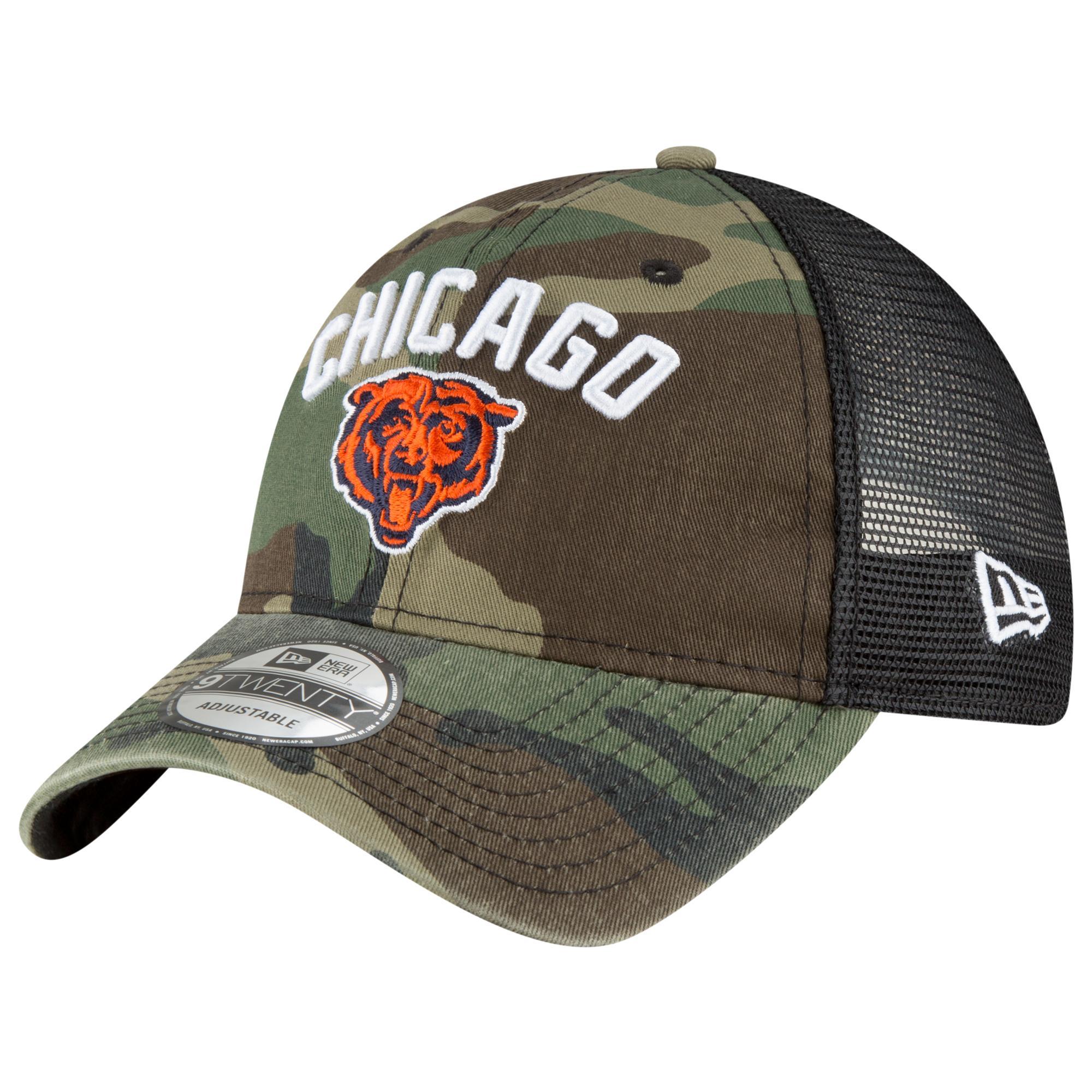new arrival a6cd8 35e65 KTZ - Green Chicago Bears Nfl 9twenty Rugged Stack Camo Trucker Cap for Men  - Lyst. View fullscreen