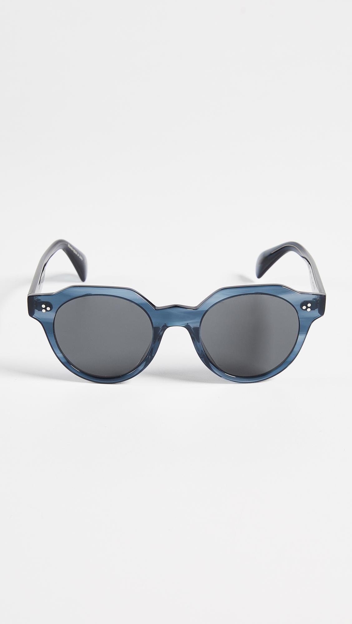 3e585871e8f Lyst - Oliver Peoples Irven Sunglasses in Gray for Men