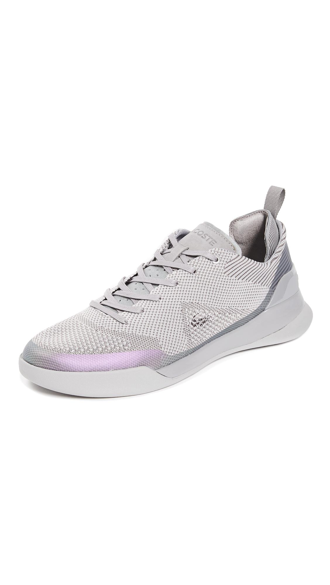 64a6a6e792858a Lacoste Lt Dual Elite Sneakers in Gray for Men - Lyst