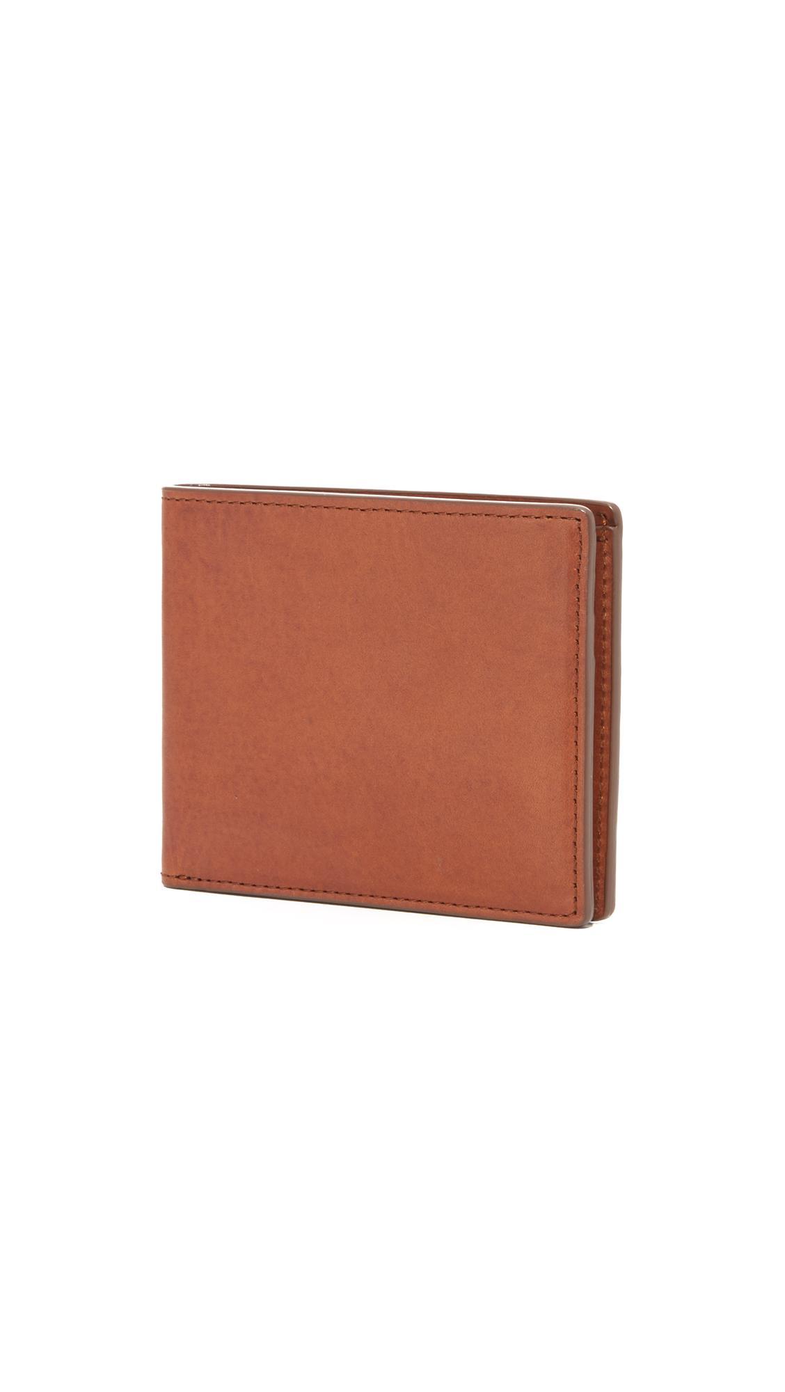 Rag Amp Bone Hampshire Wallet In Brown For Men Lyst