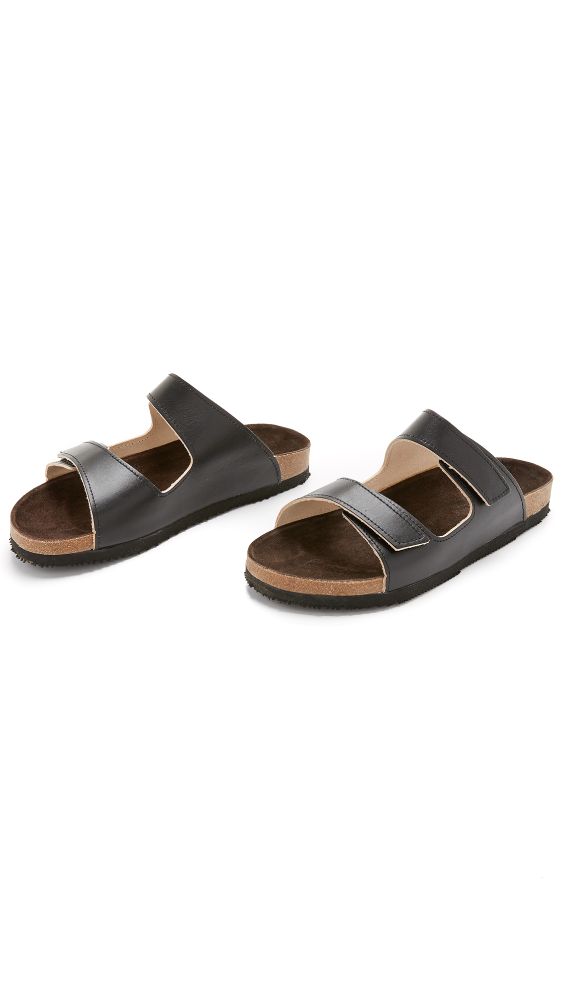 Lyst French Trotters Leo Sandals In Black For Men