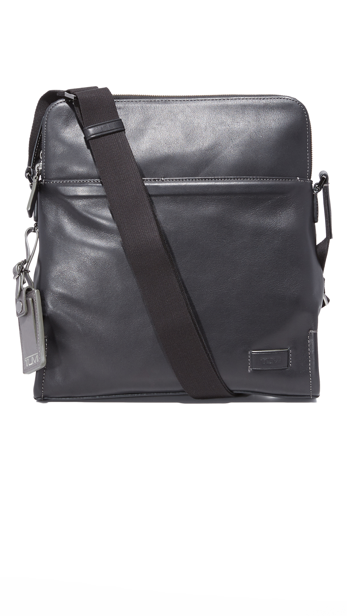 728382d0bad5 Tumi Harrison Leather Stratton Cross Body Bag in Black for .