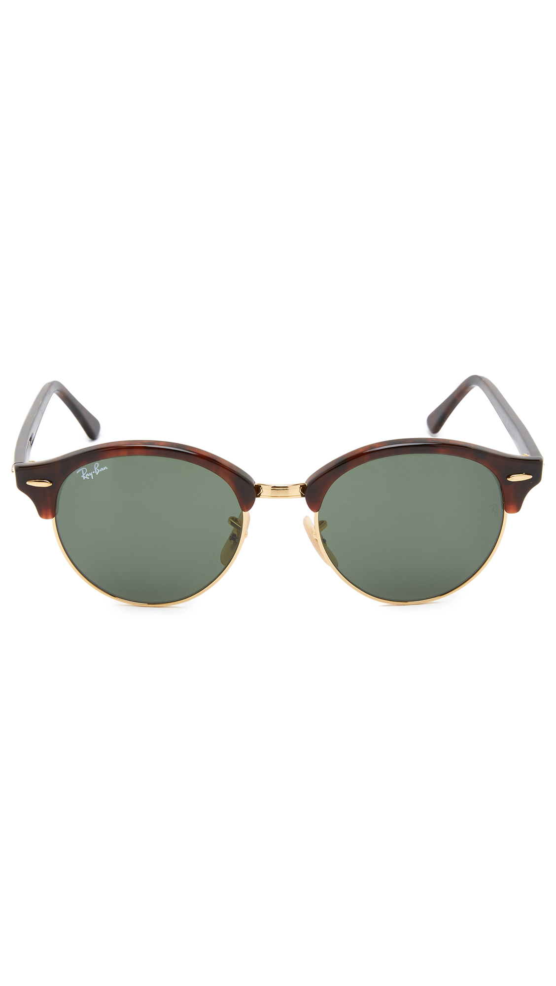 a8e83a38e0 ... greece ray ban club round sunglasses in brown for men lyst c2767 4b5a7