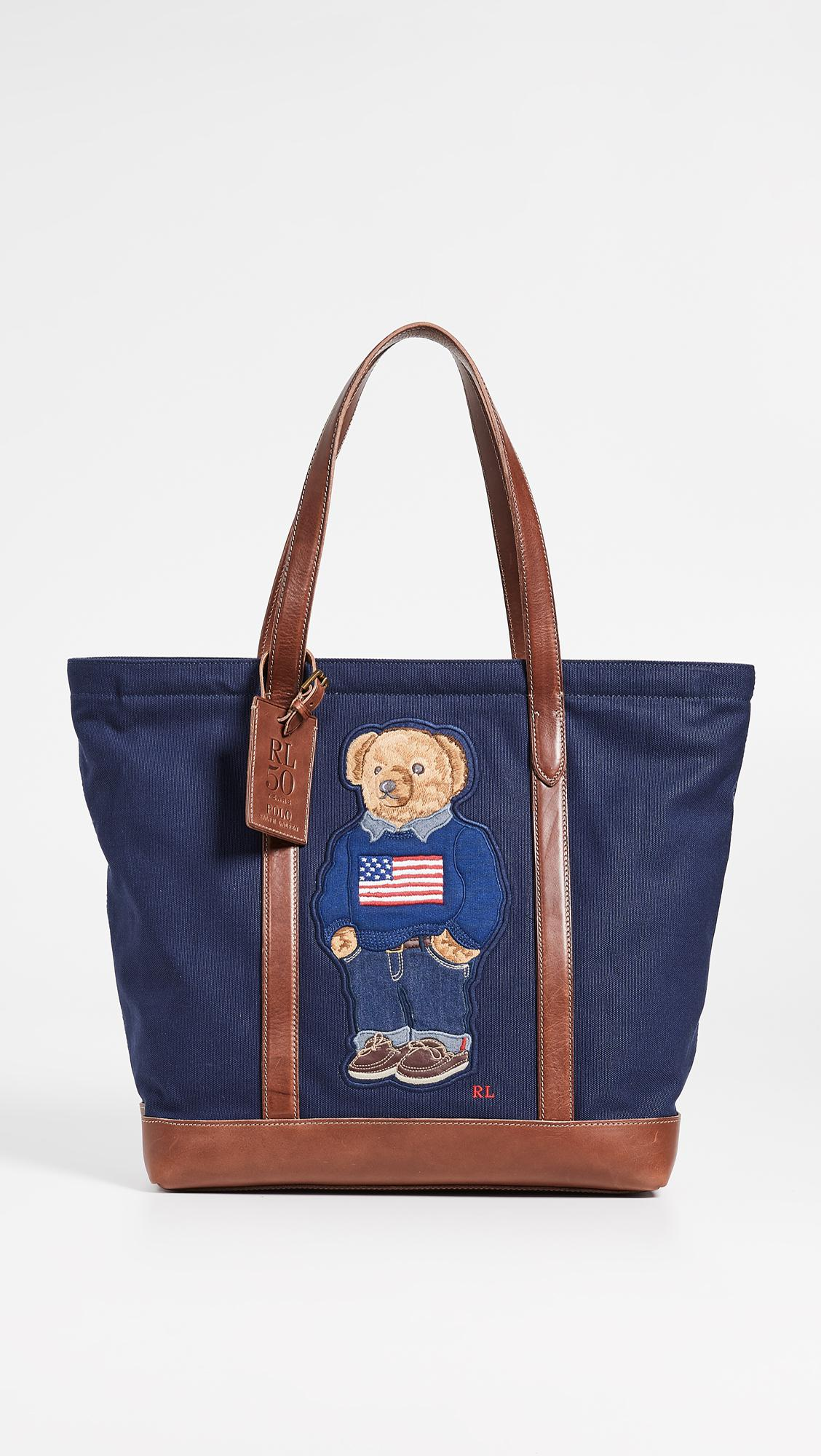 2b32afc520b2 Lyst - Polo Ralph Lauren 50th Anniversary Tote in Blue for Men